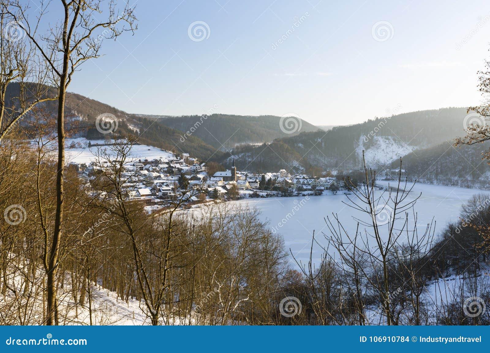 Einruhr W zimie, Niemcy