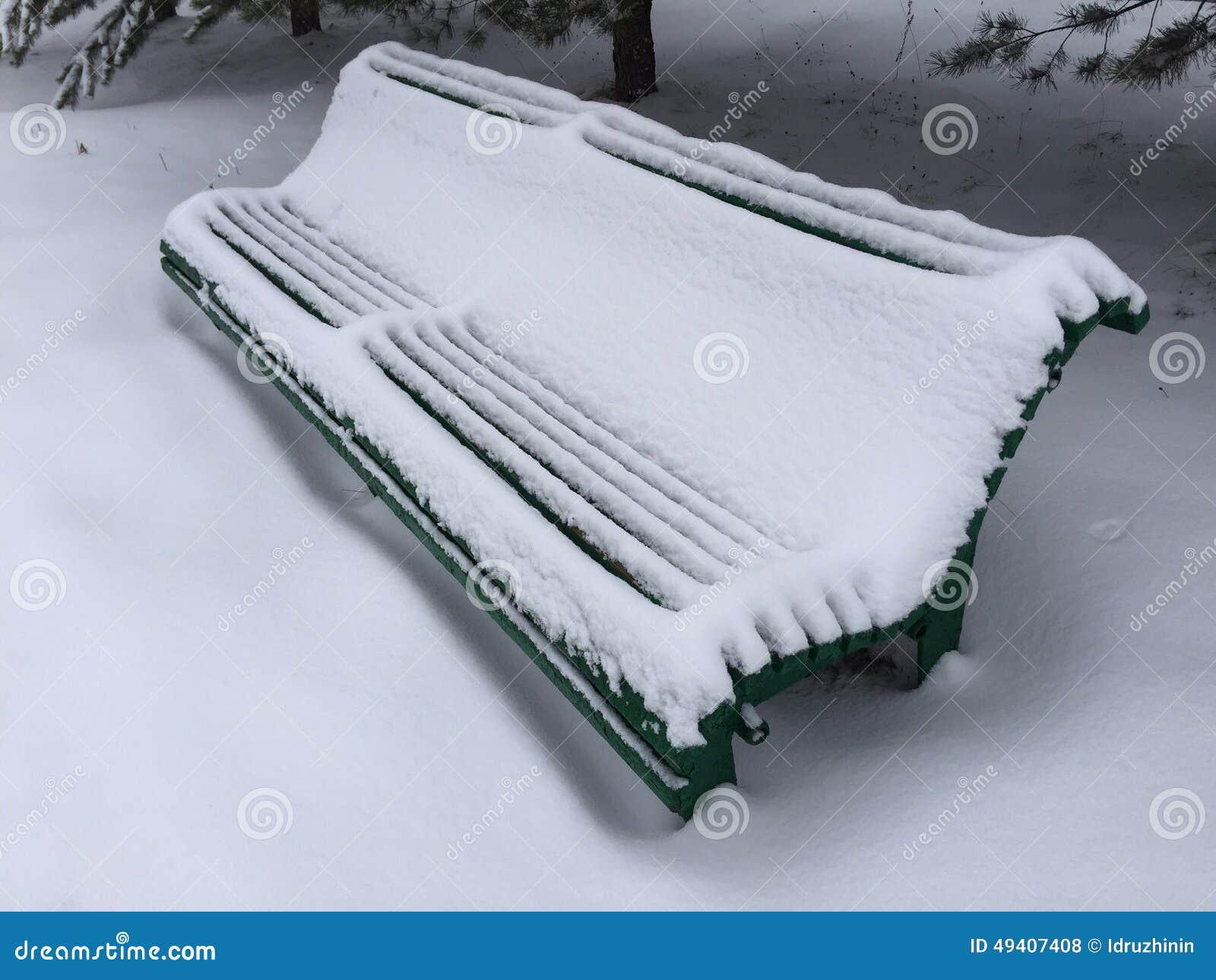 Download Einsame Bank Unter Weihnachtsbäumen Stockfoto - Bild von welt, aufgeben: 49407408