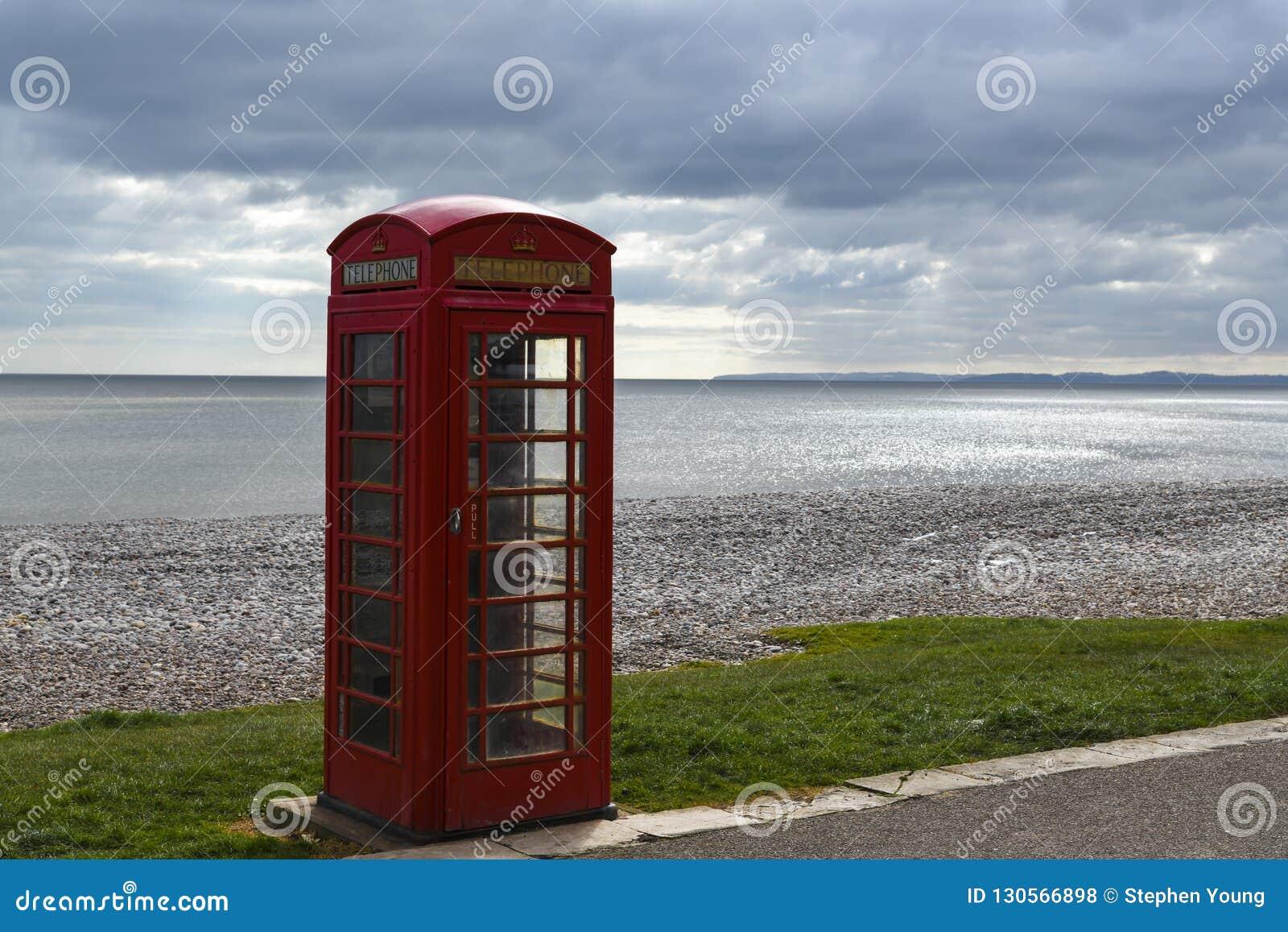 Einsame Telefonzelle