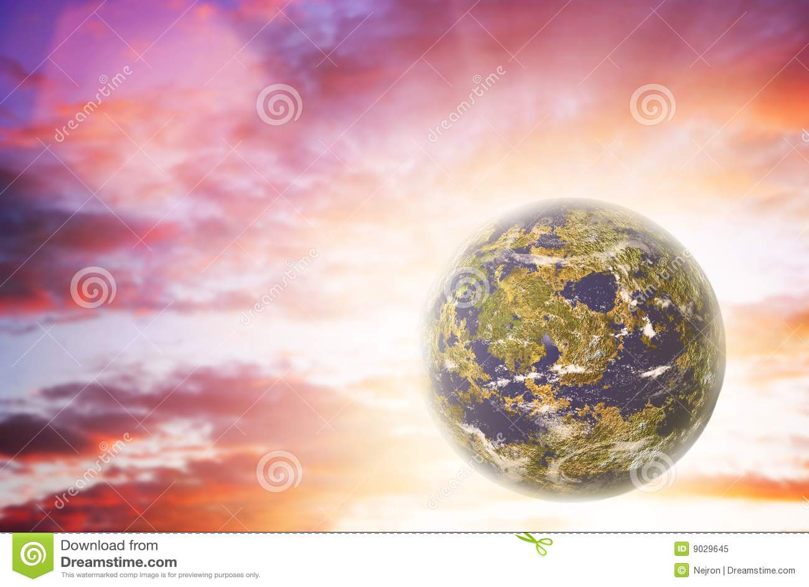 Einsamer Planet