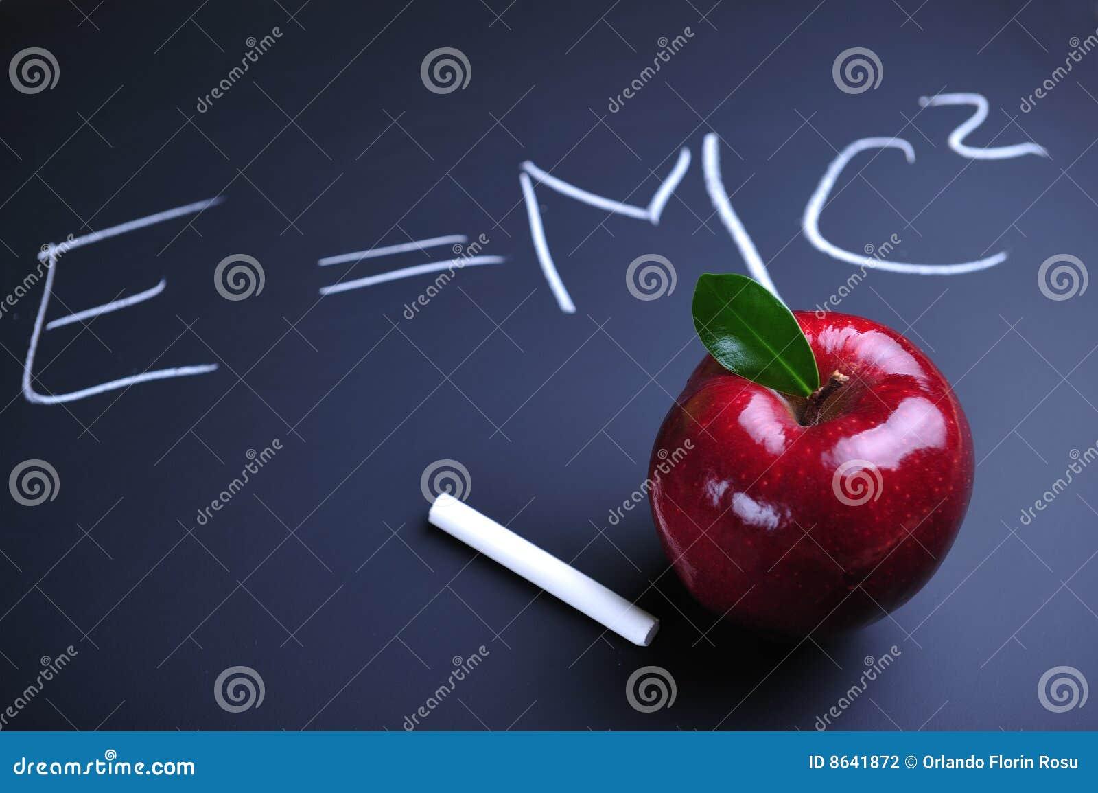 Einstein jabłczana formuła