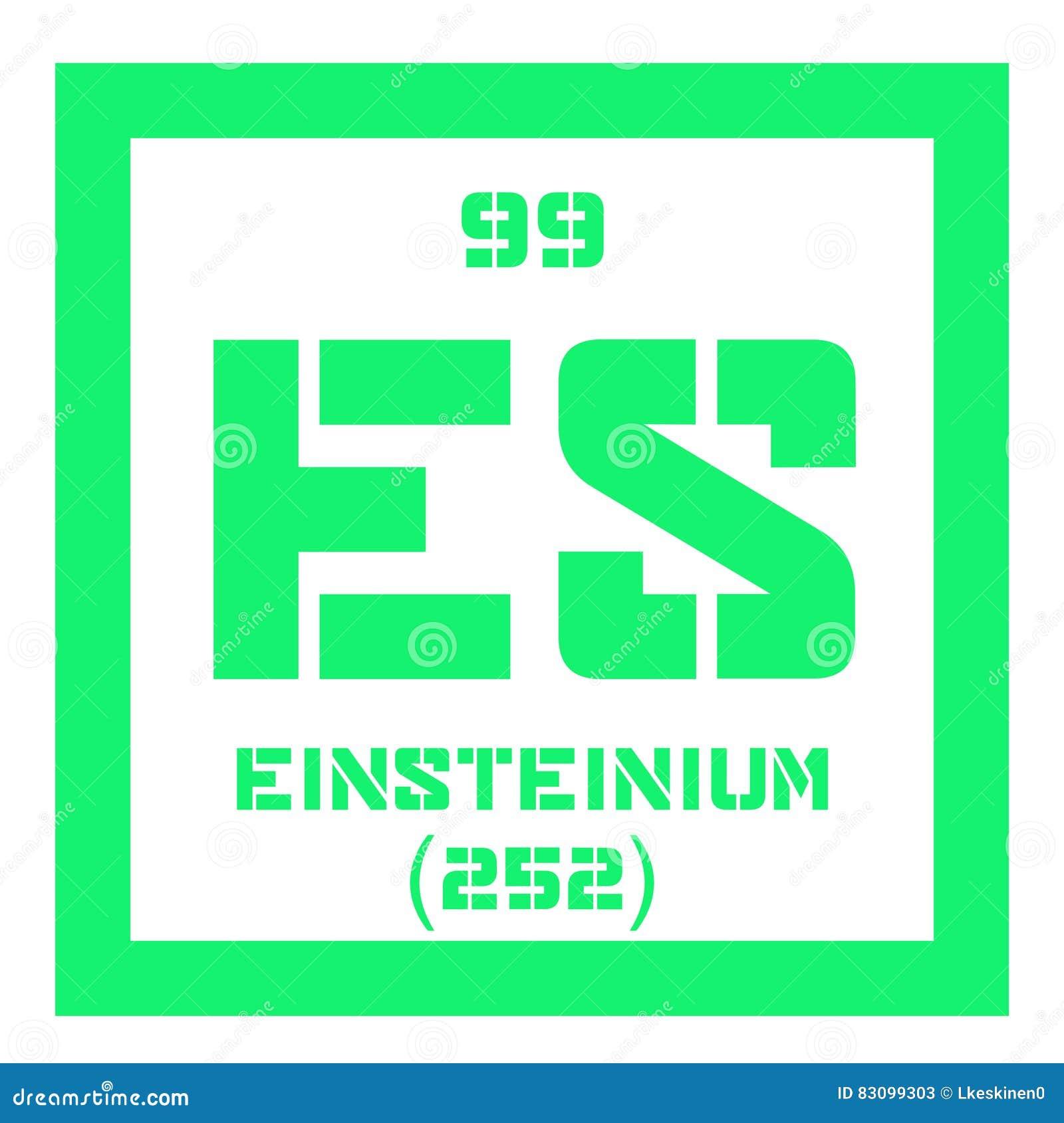 Einsteinium chemisch element