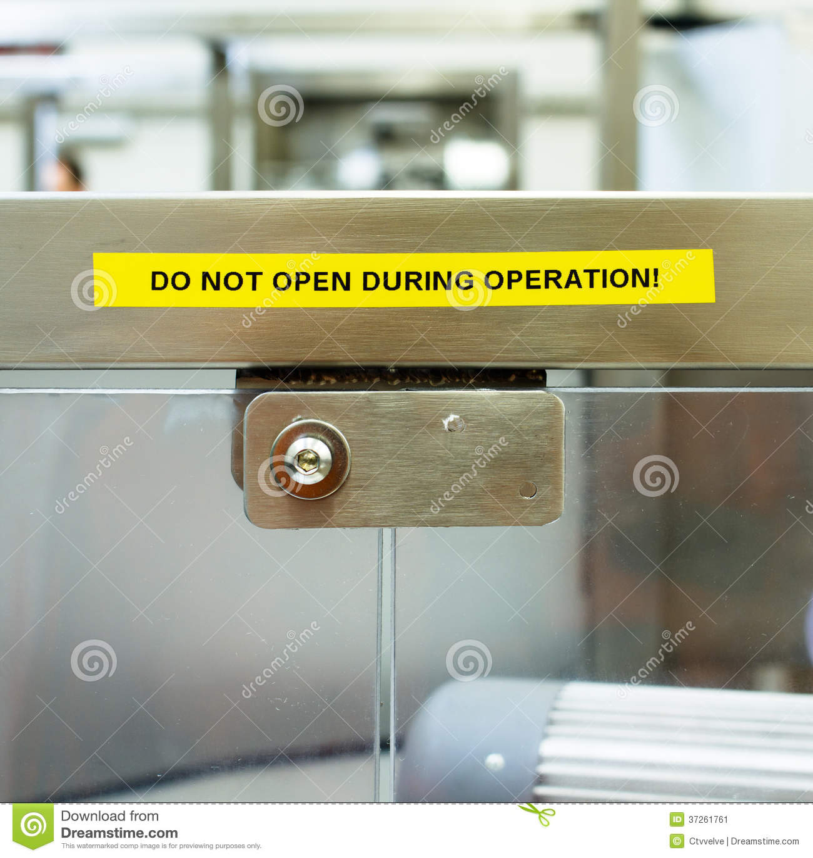 Einstiegstür des Büros