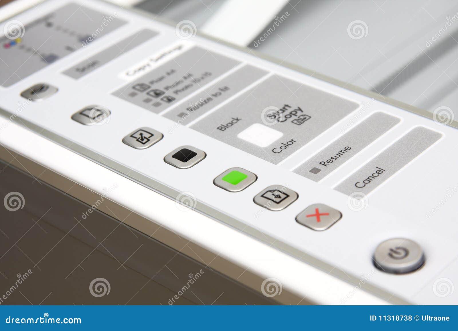 Einteiliger Drucker
