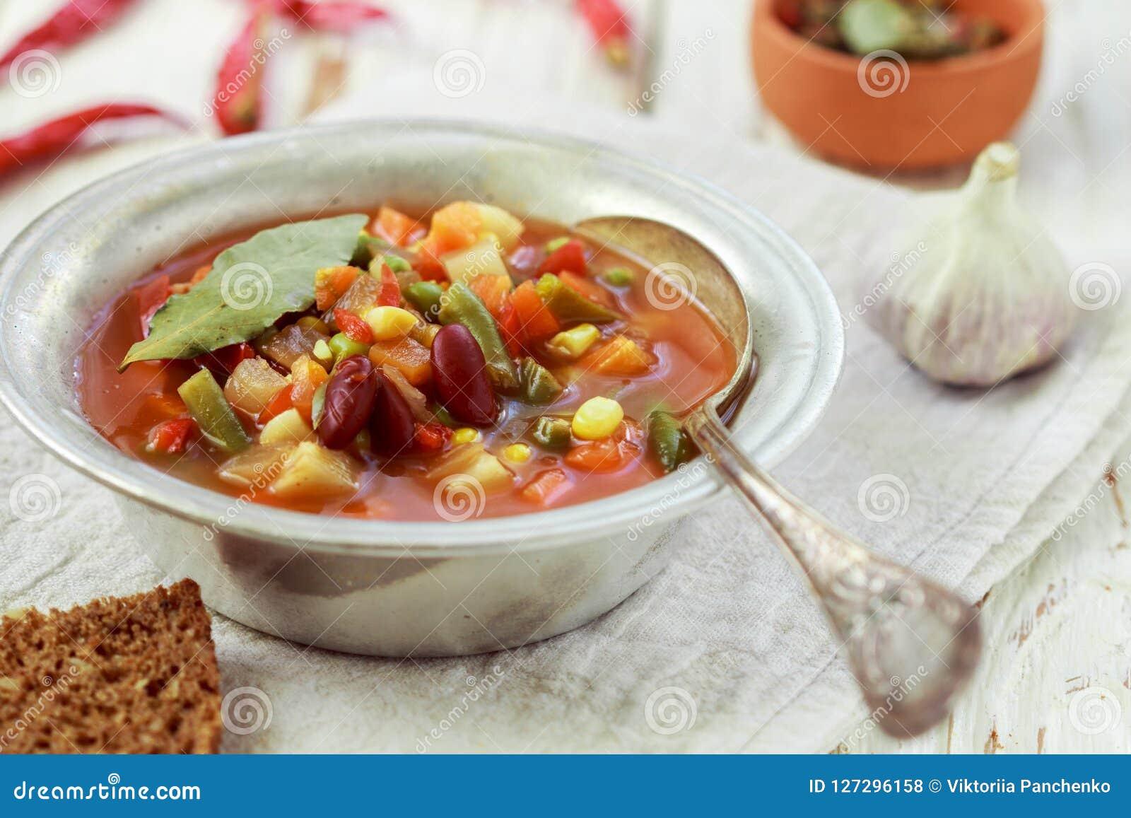 традиционный немецкий суп