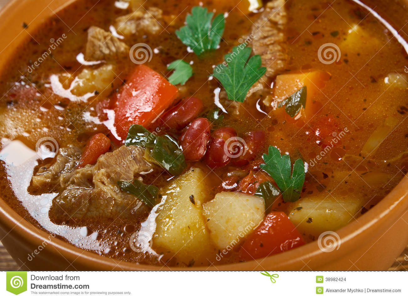 Eintopf traditional german cuisine dish stock photo for Authentic german cuisine