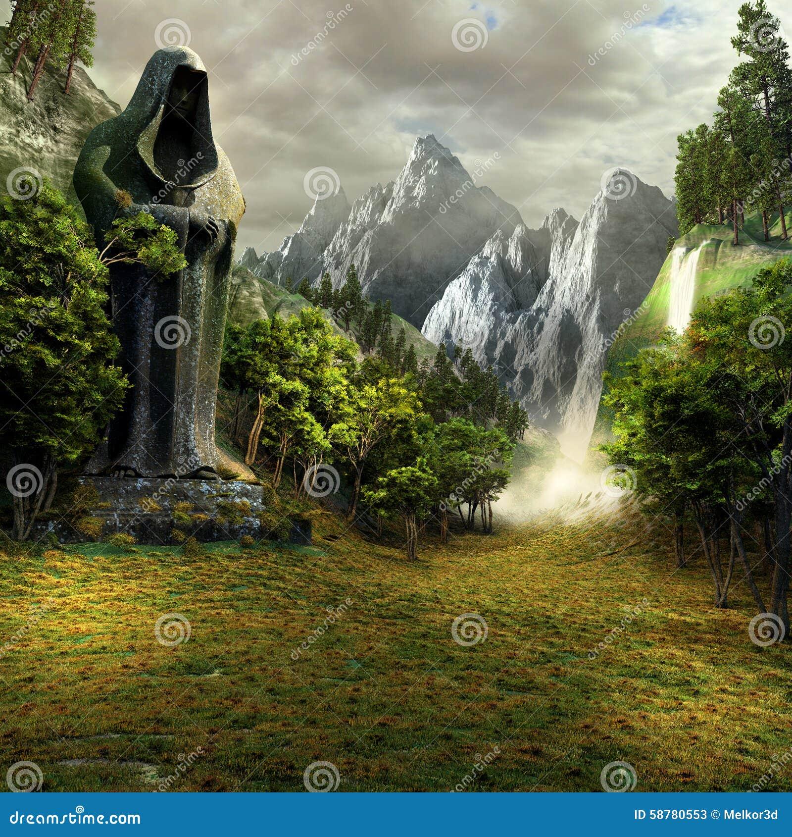 Eintritt zum magischen Tal