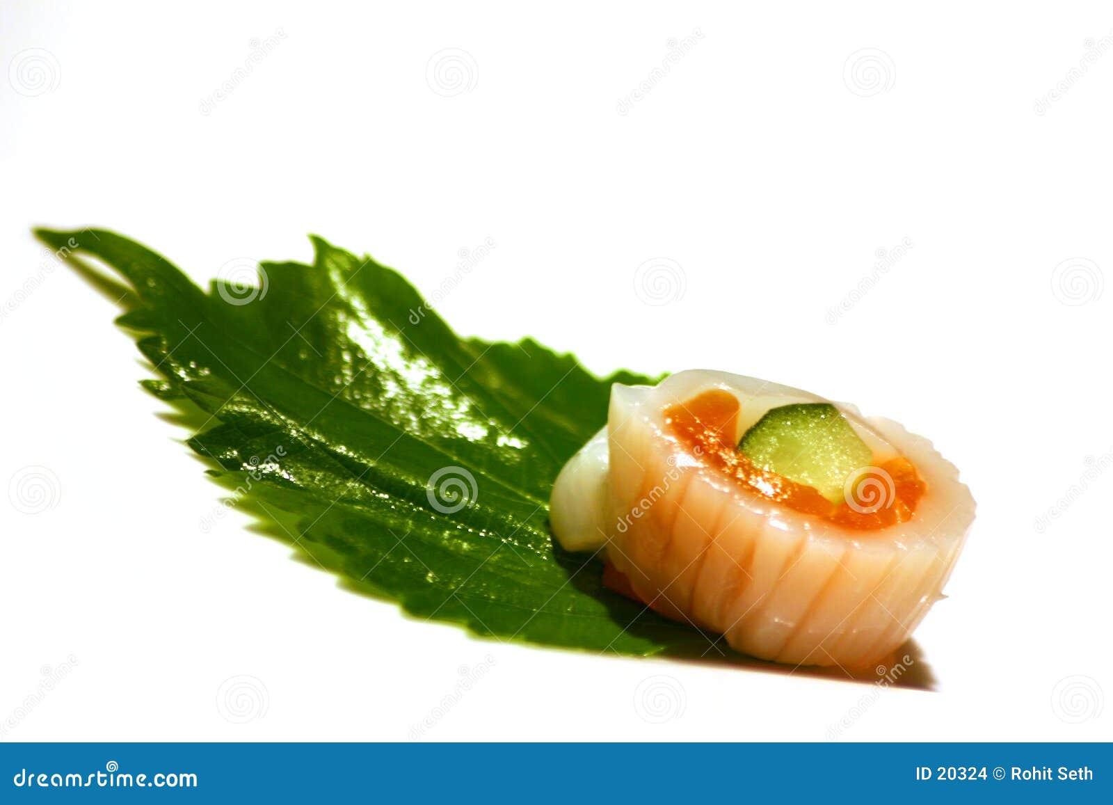 Einzelne Sushi