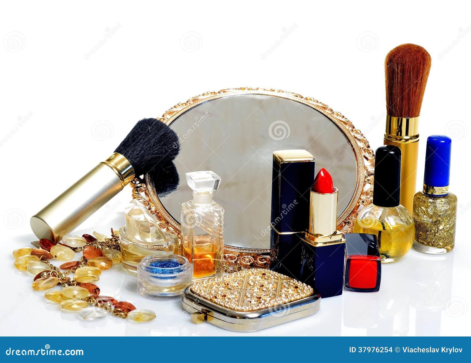 Make Up Spiegel : Einzelteile für dekorative kosmetik make up spiegel und blumen