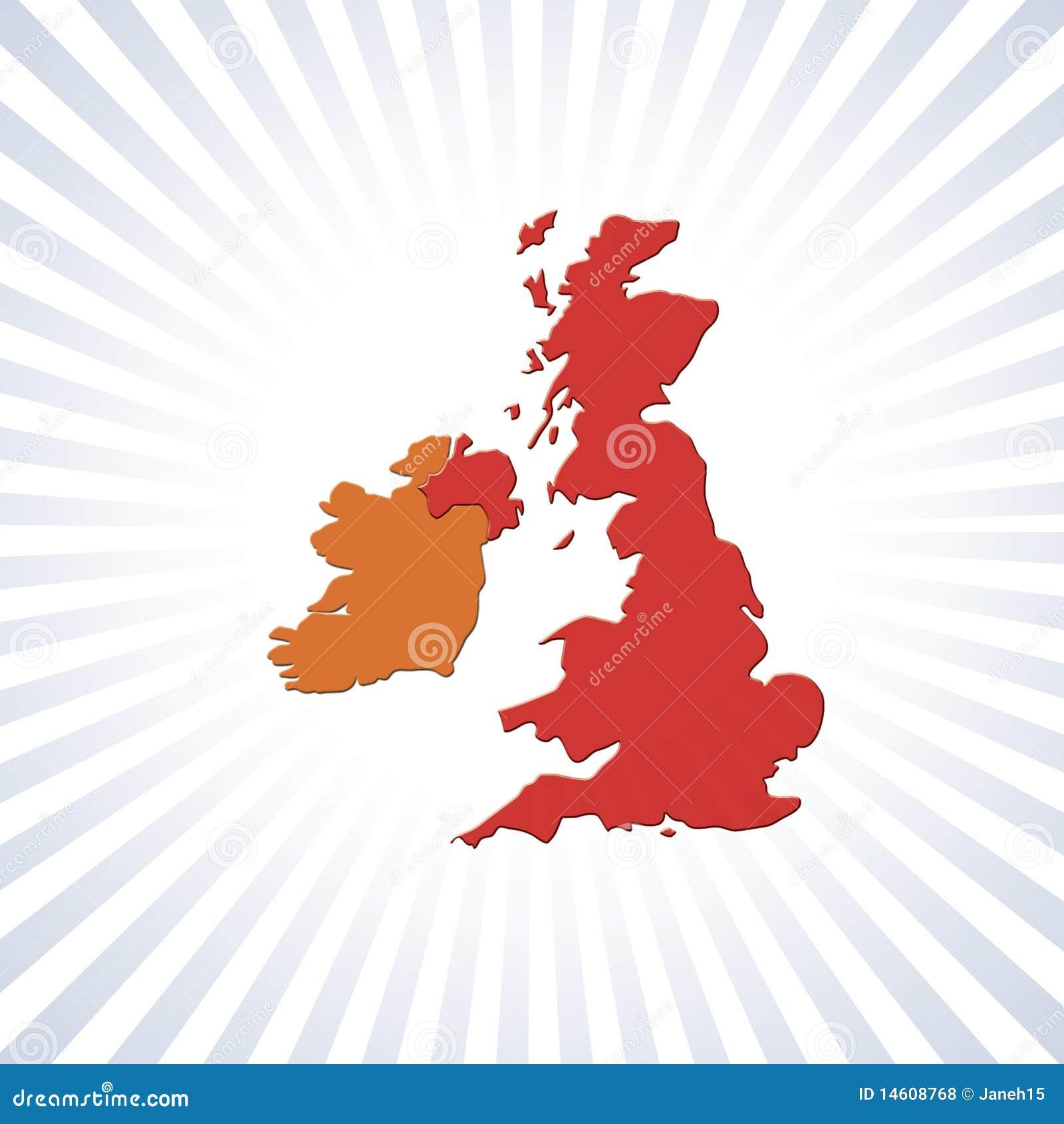 Eire映射分级显示英国