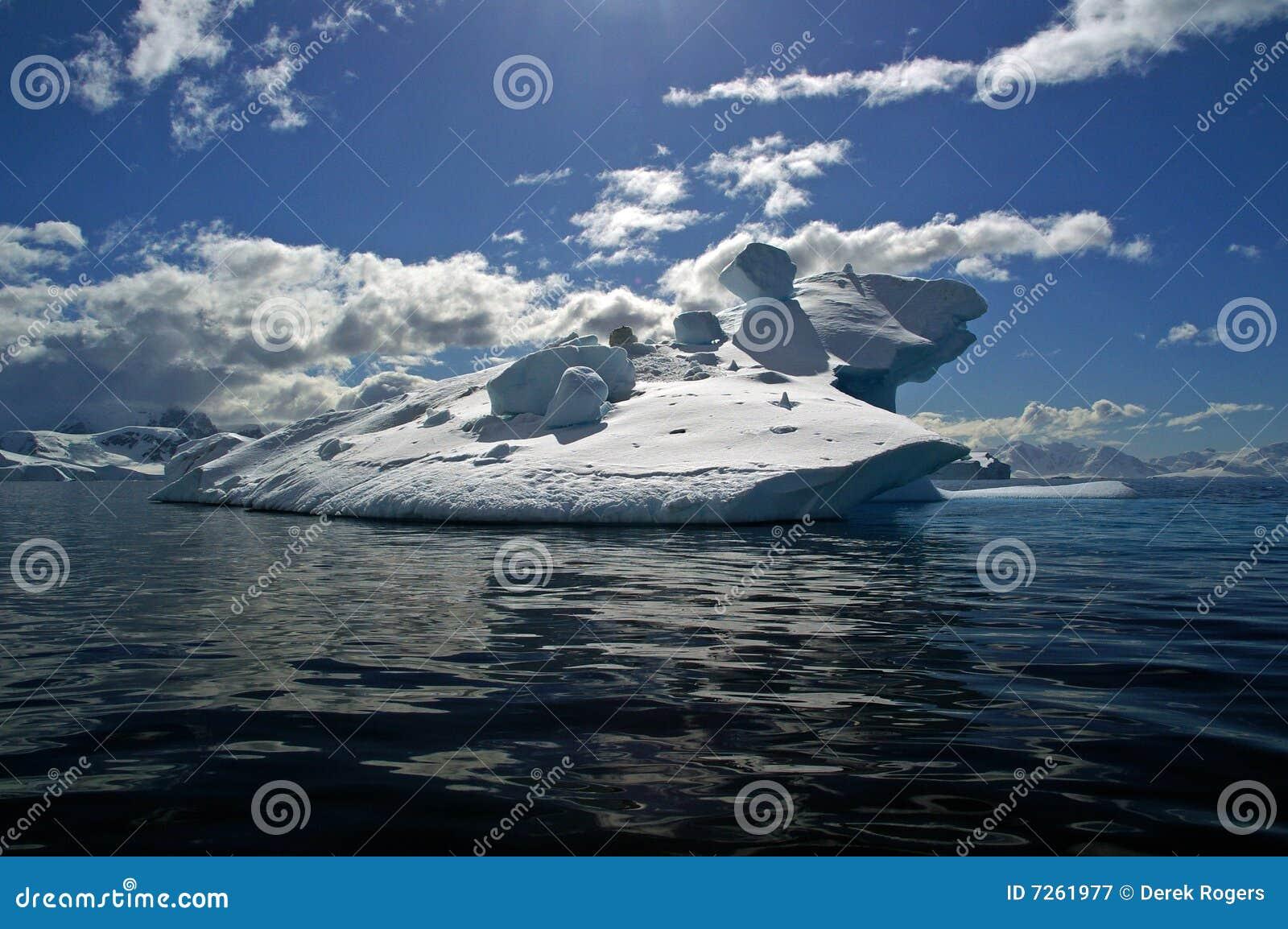 Eis Berg Antarktik