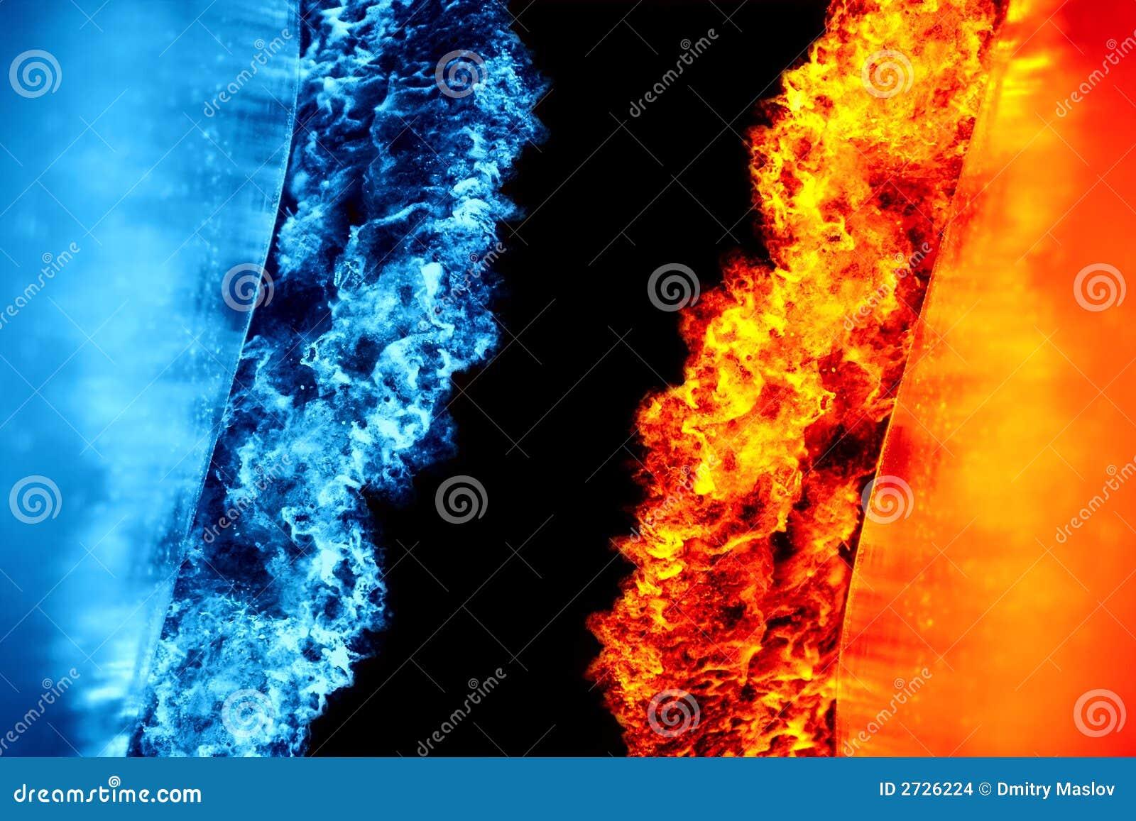 Feuer Gegen Eis