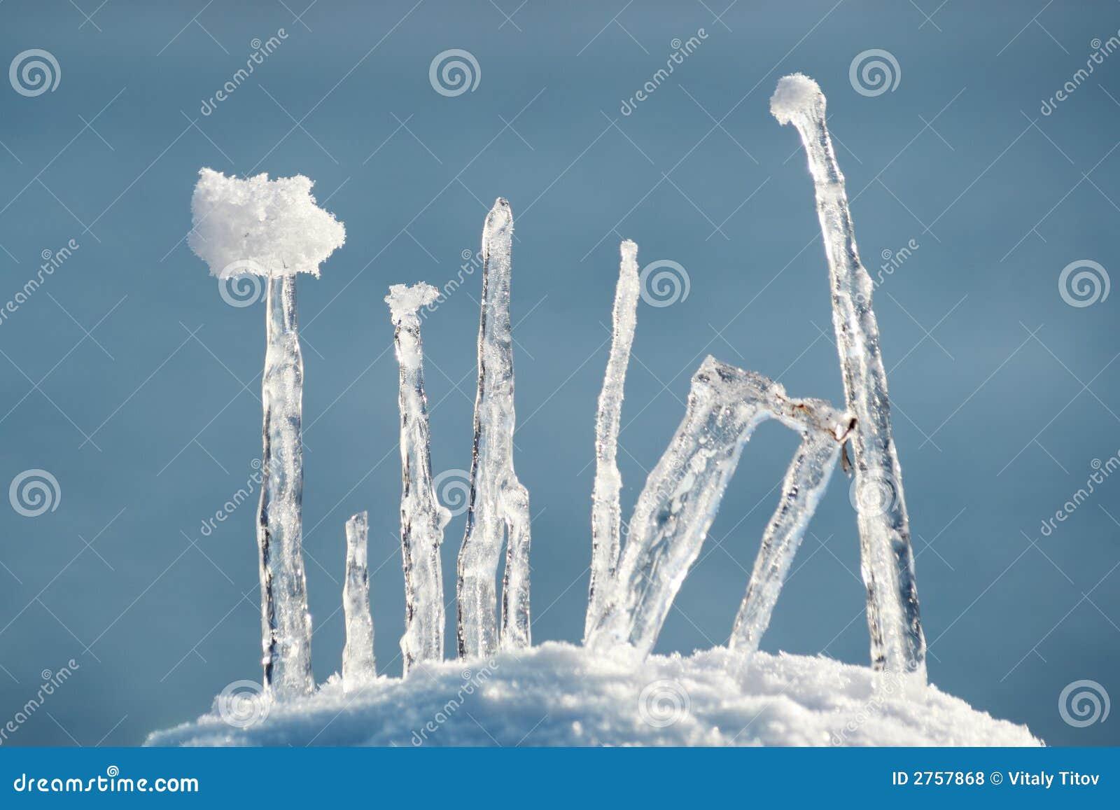 Eisaufbau