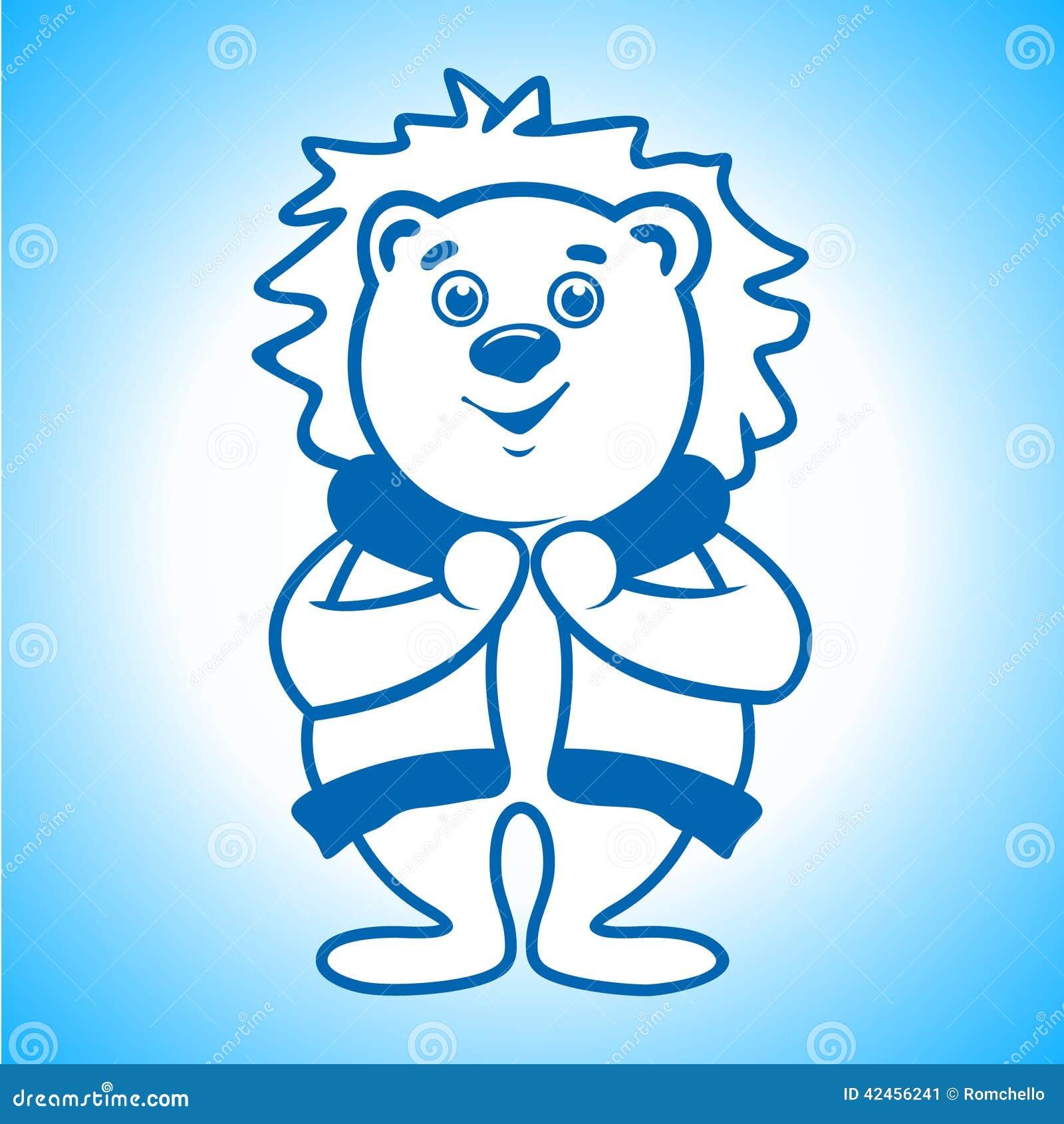 Eisbär-Eskimozeichen