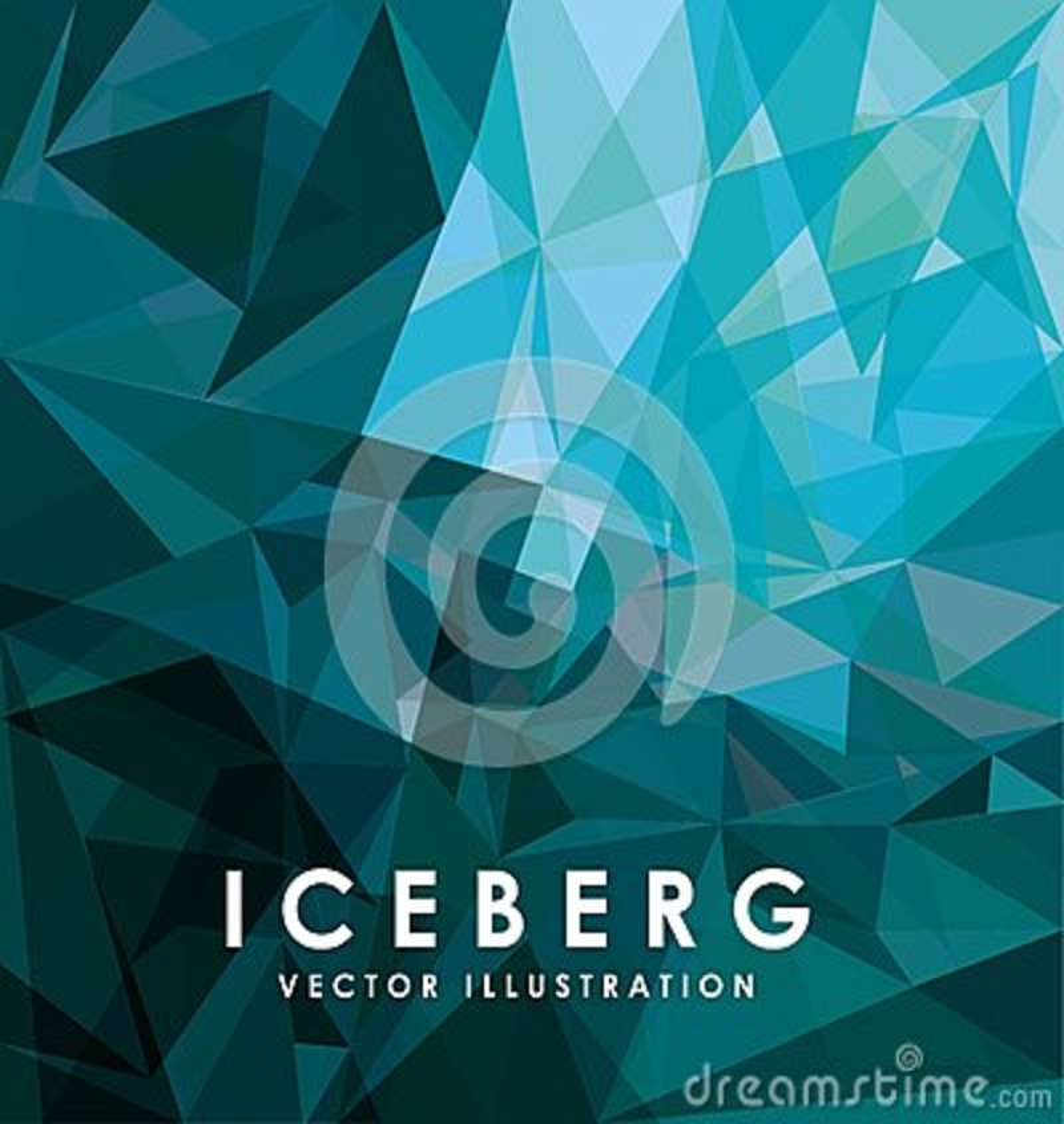 Eisberggletscherdesign