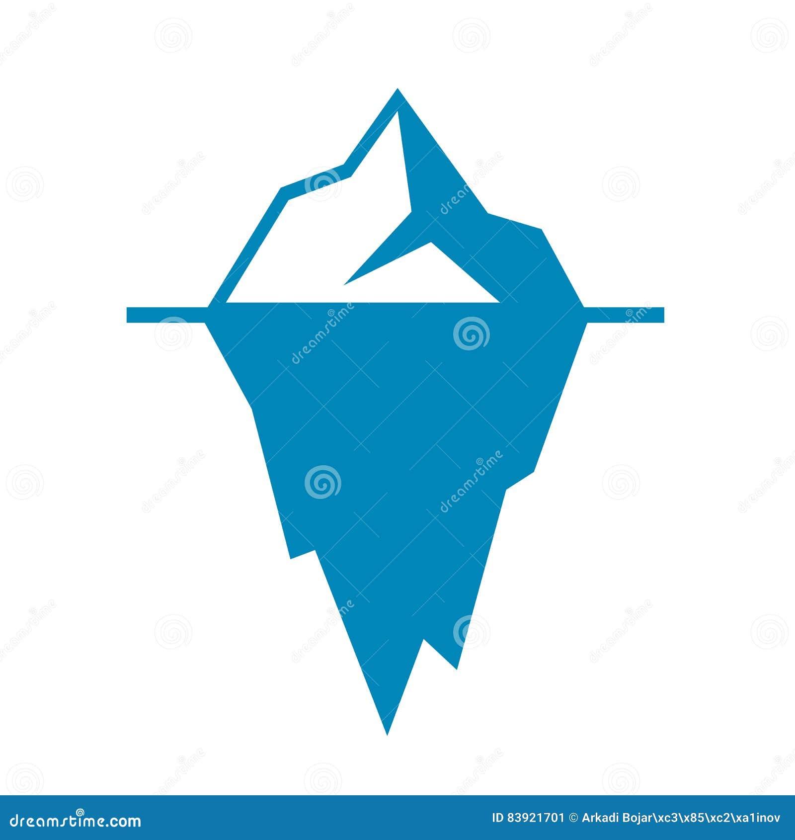 Eisbergvektorikone