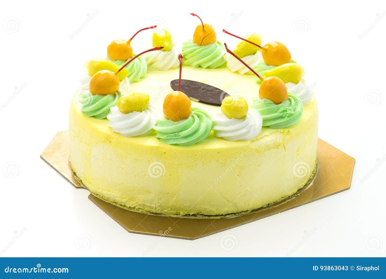 Eiscreme-Mangokuchen