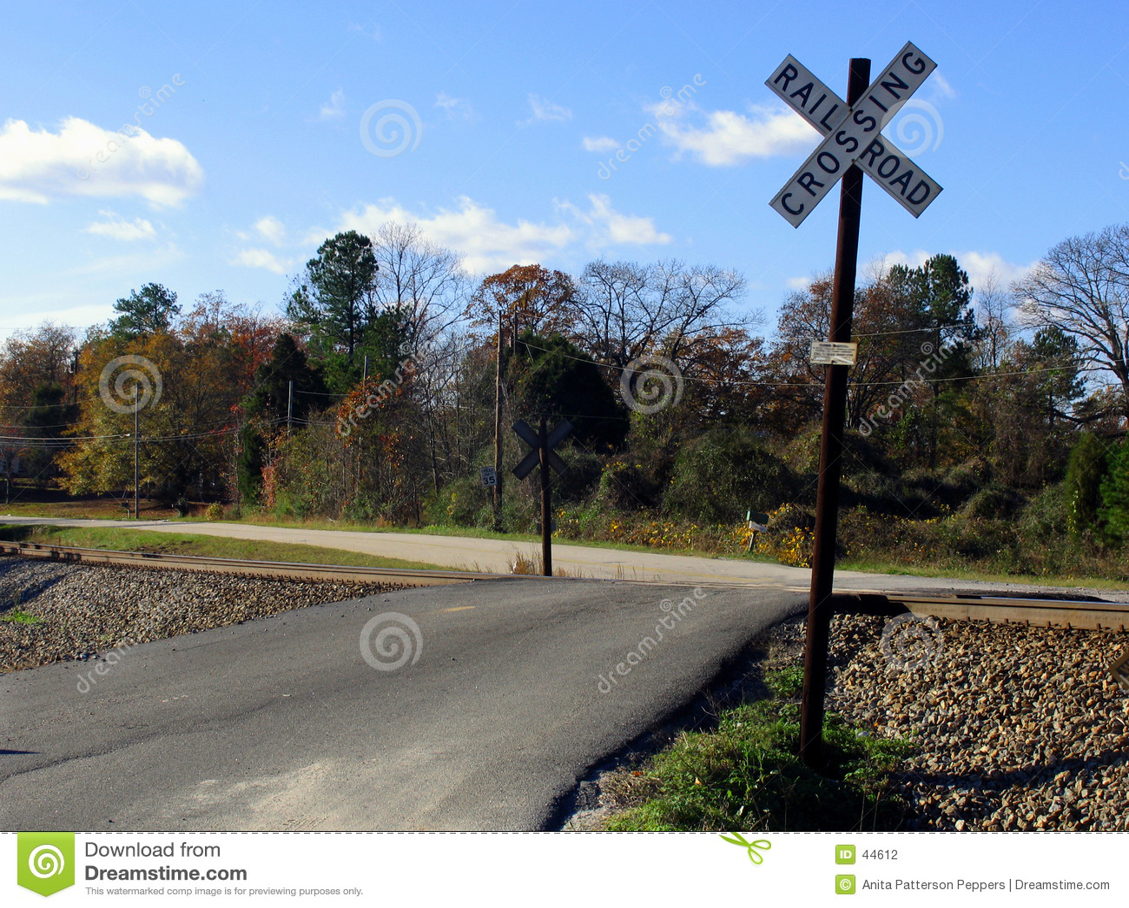 Eisenbahnüberfahrt