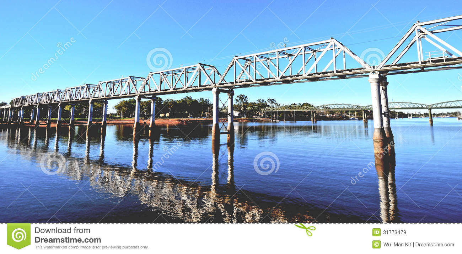 Eisenbahnbrücke Bundaberg