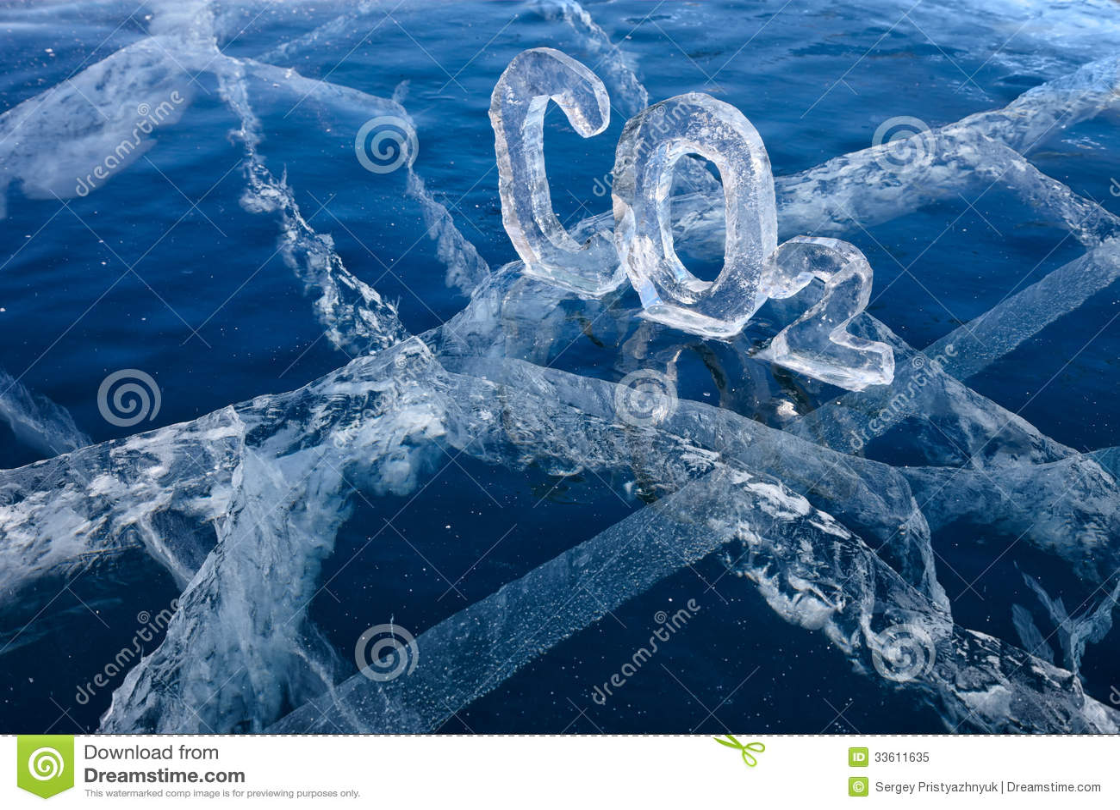 eisige chemische formel von kohlendioxyd co2 lizenzfreies stockfoto bild 33611635. Black Bedroom Furniture Sets. Home Design Ideas