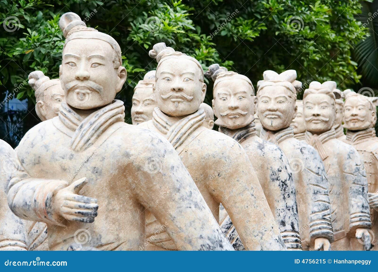 Ejército de guerreros de la terracota