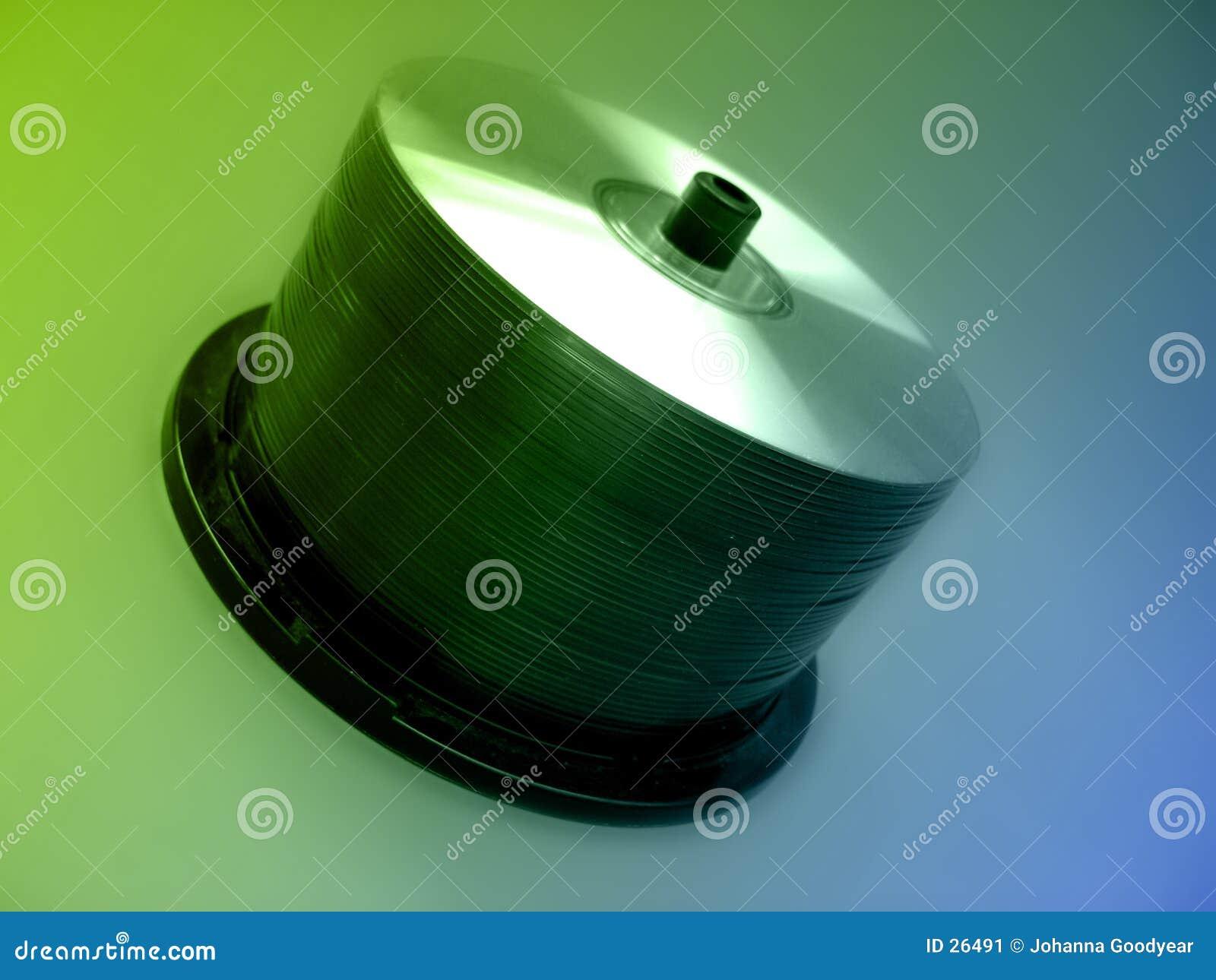 Download Eje de rotación CD imagen de archivo. Imagen de quemado - 26491