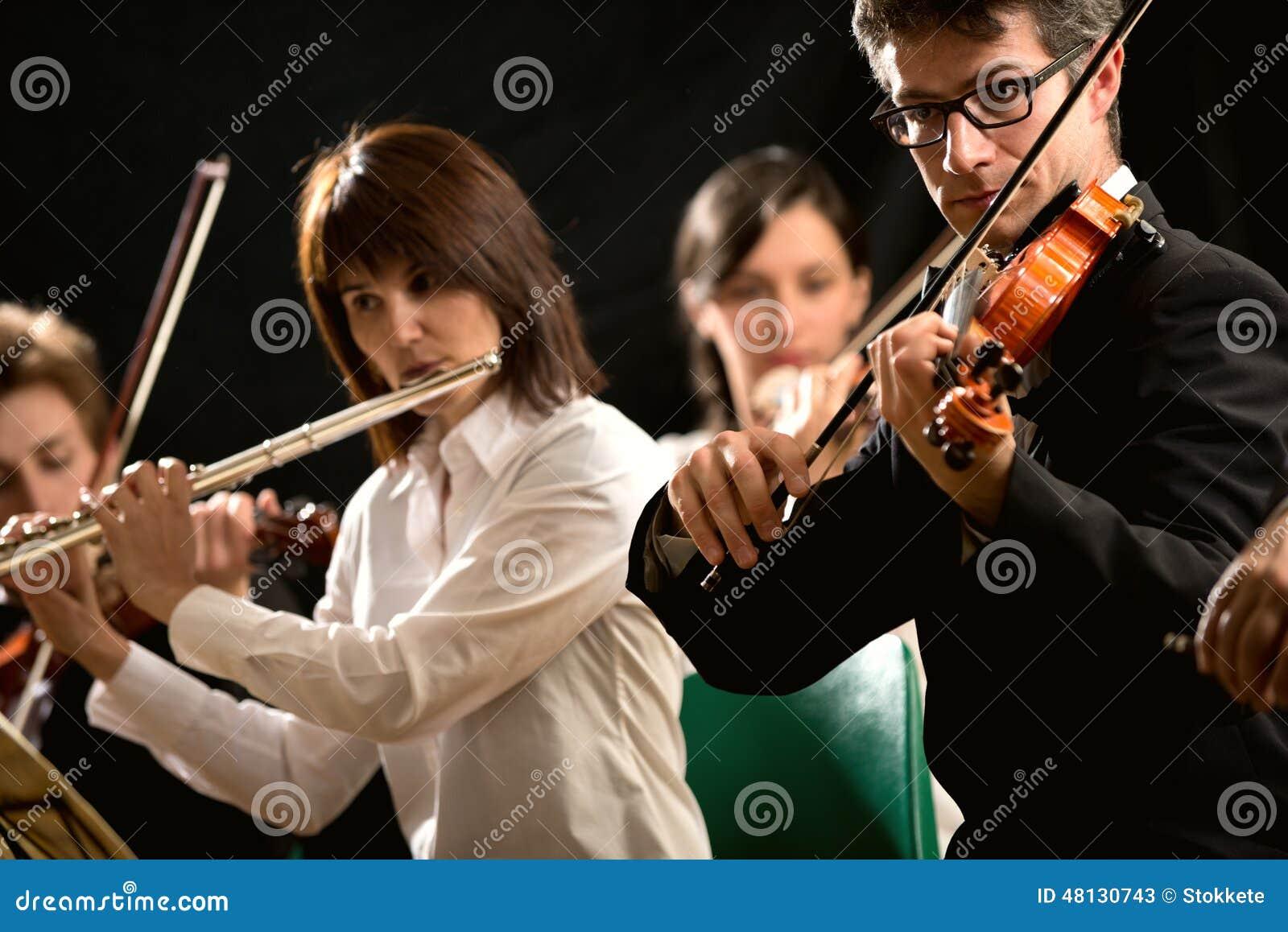 Ejecutantes de la música clásica