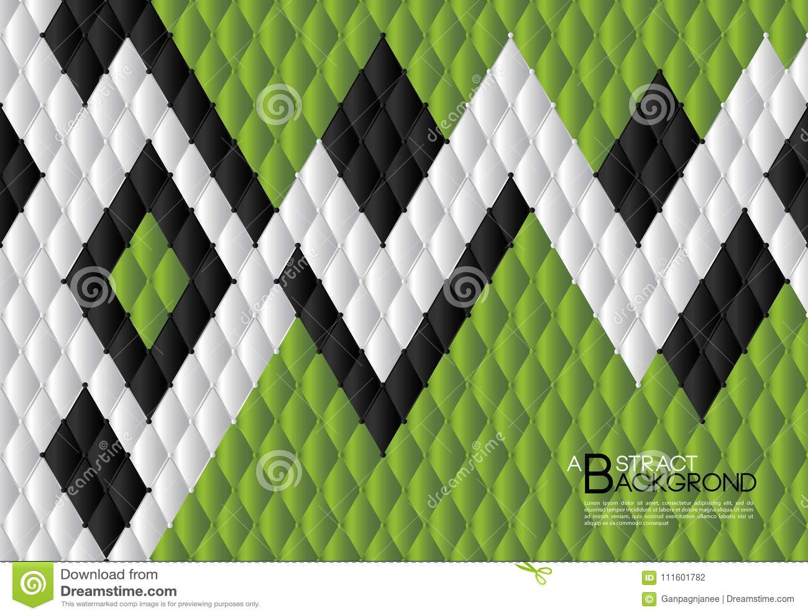 Ejemplo Abstracto Verde Del Vector Del Fondo, Disposición De La ...