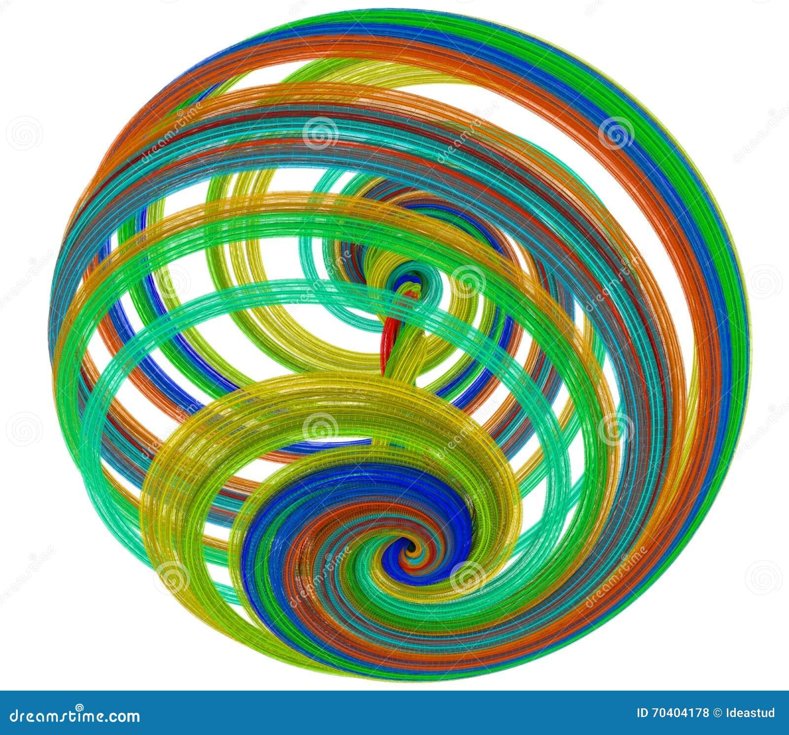 Ejemplo 3d de figuras abstractas stock de ilustraci n for Imagenes abstractas 3d