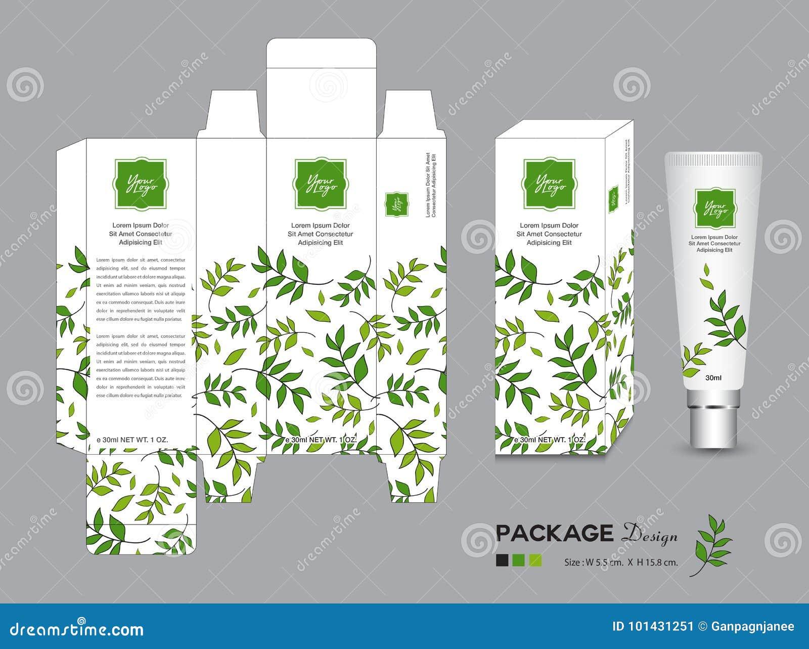 Ejemplo De Empaquetado Orgánico Del Vector De La Plantilla Etiquetas ...