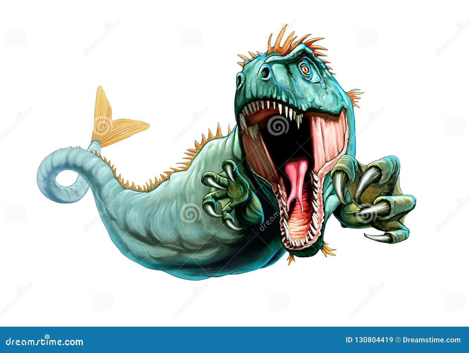 Ejemplo de la criatura mitológica Cetus