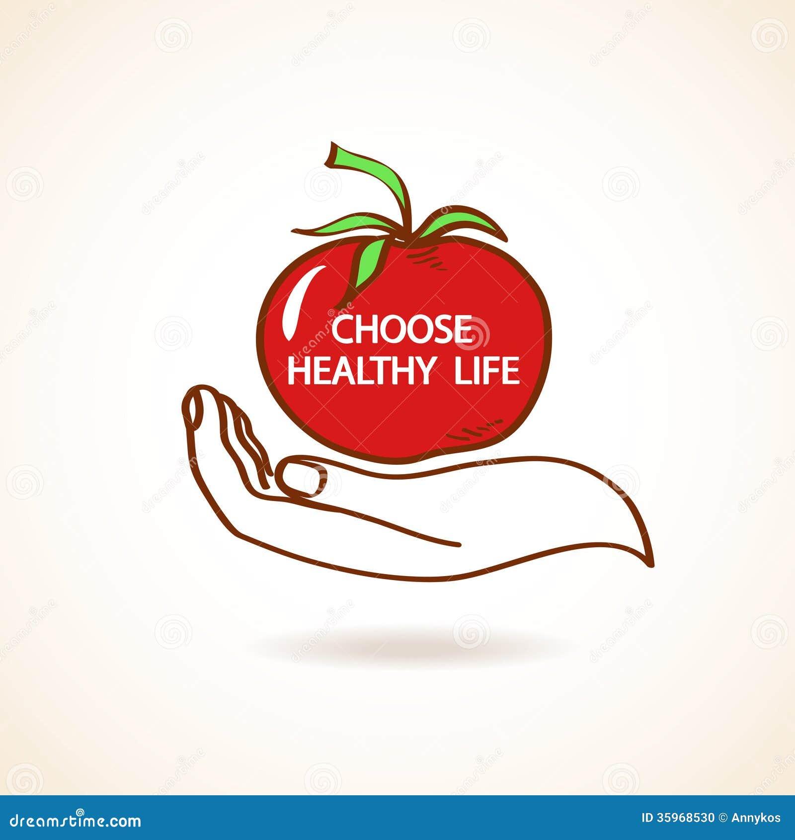 Ejemplo de la mano humana que celebra el tomate