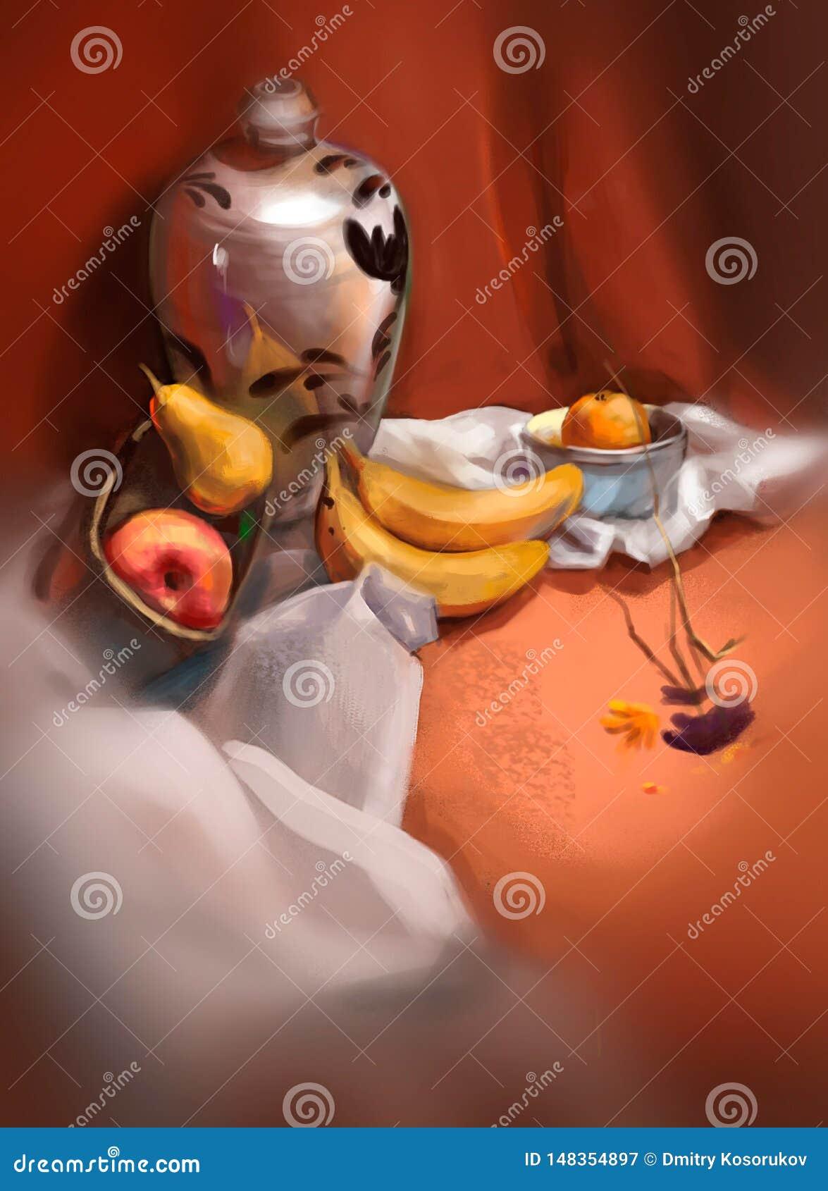 Ejemplo de plátanos en la tabla