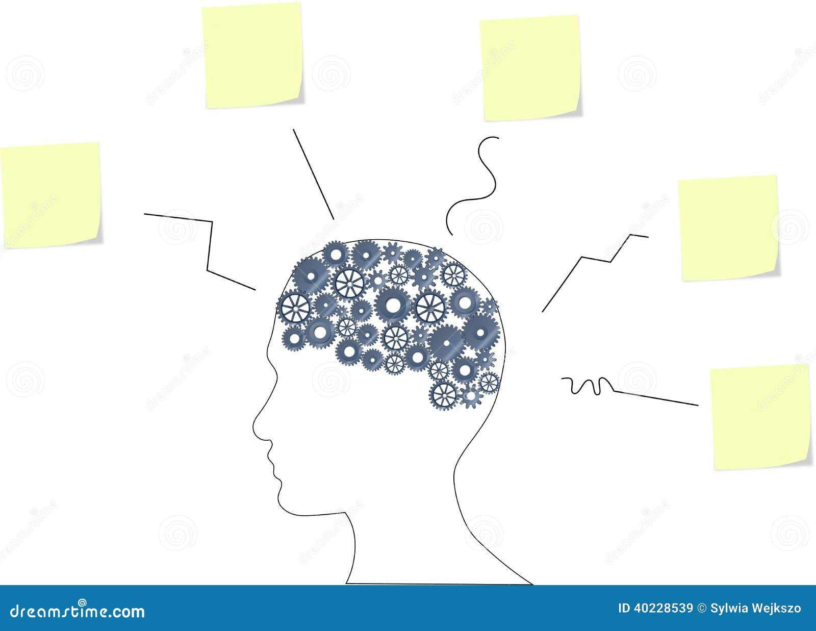 Lujoso Etiqueta Del Diagrama De Cerebro Composición - Imágenes de ...