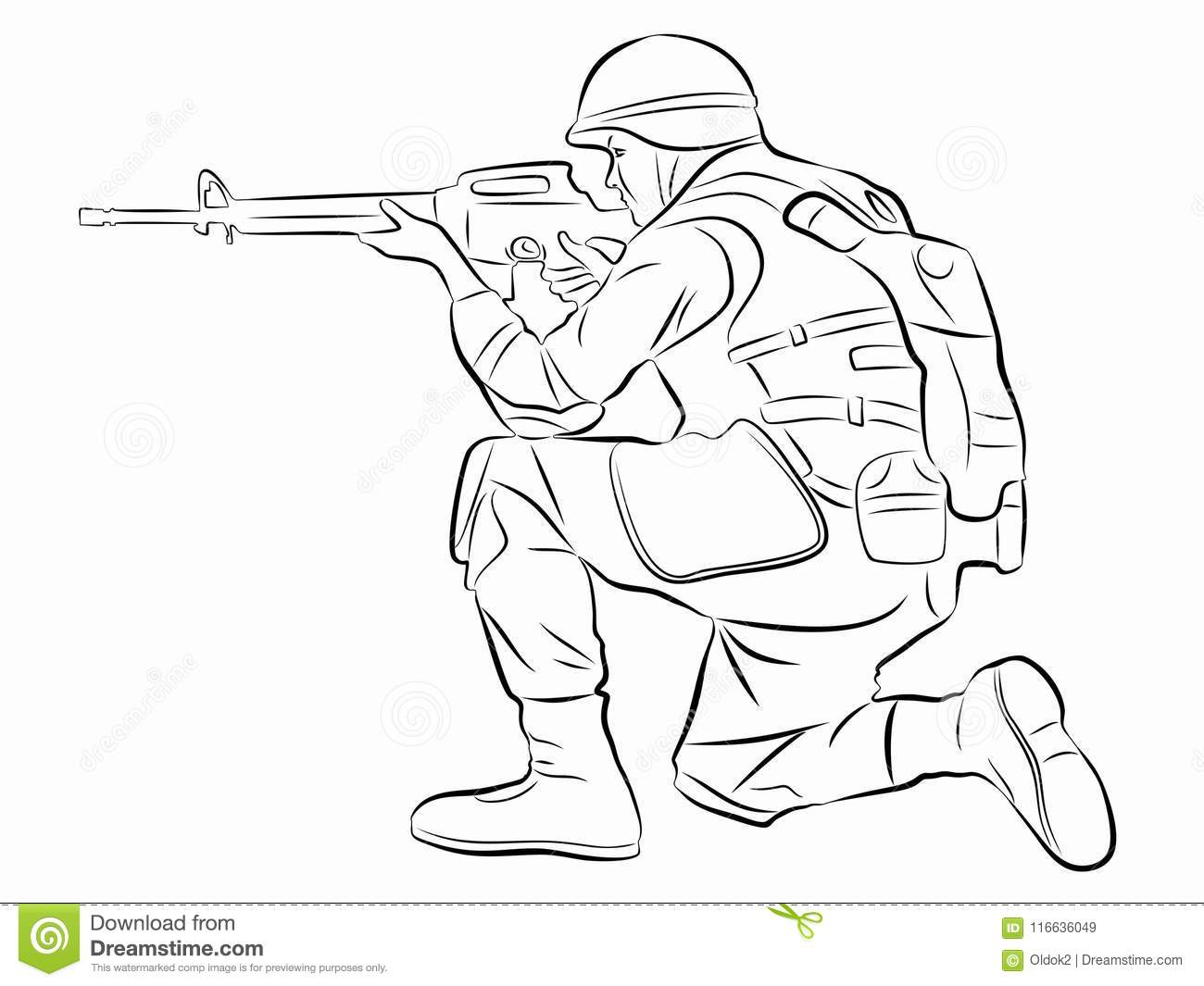 army men fighting coloring pages - photo#17