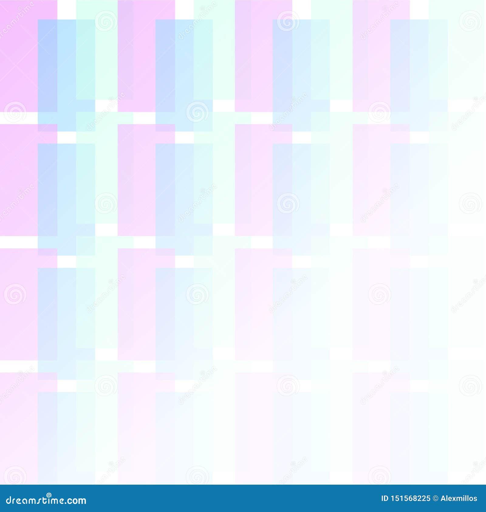 Ejemplo del diseño gráfico de color claro