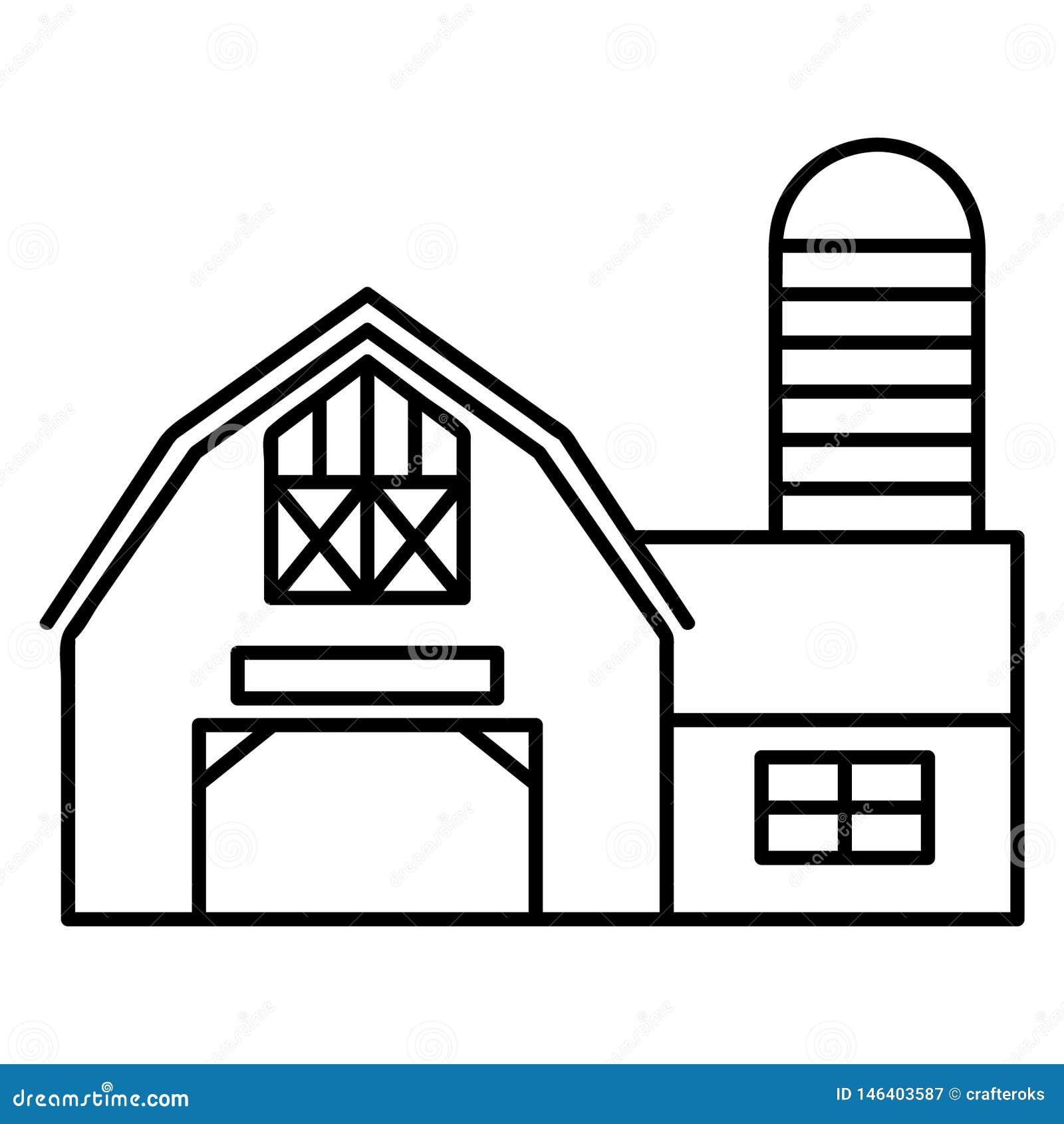 Ejemplo del granero del cortijo por los crafteroks