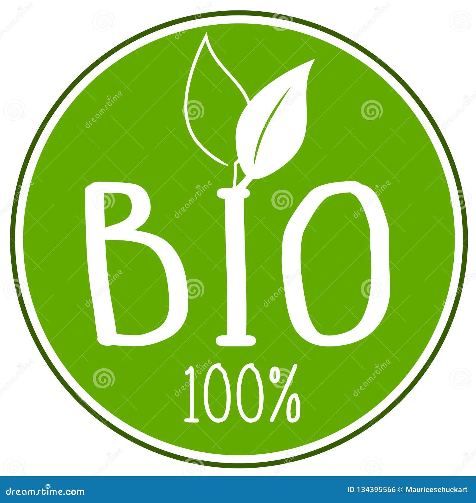 Ejemplo del icono con el 100  bio
