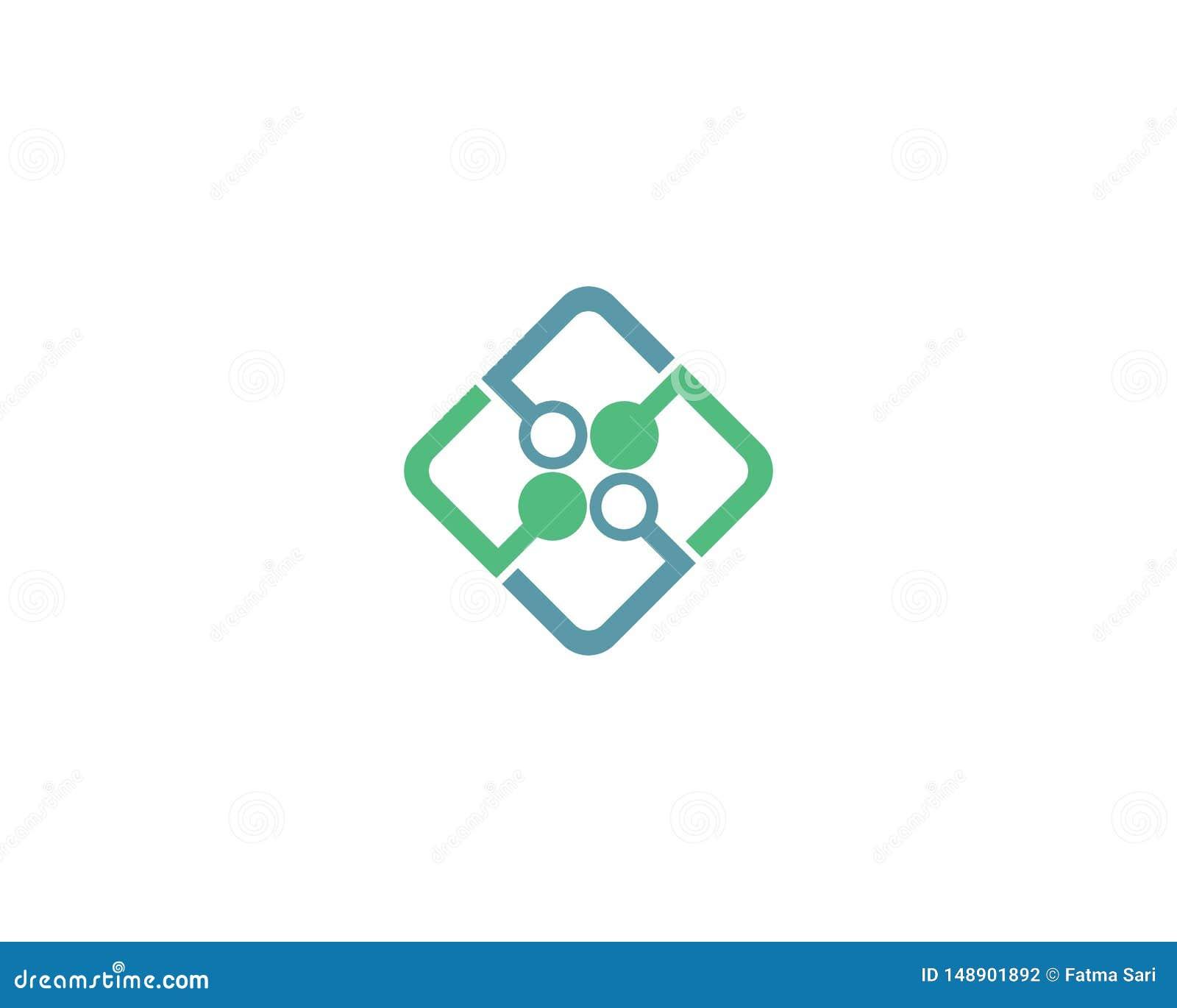 Ejemplo del logotipo de la tecnolog?a