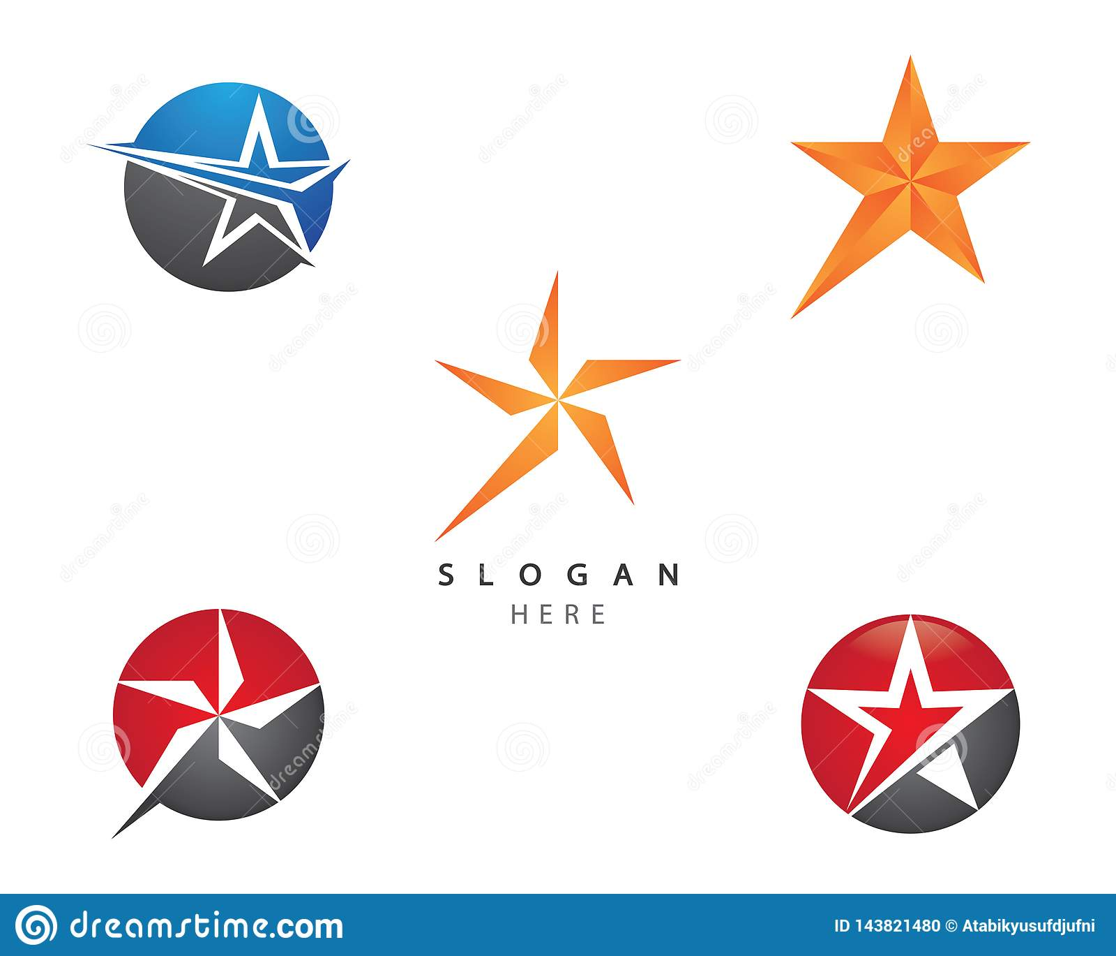Ejemplo del símbolo de la estrella