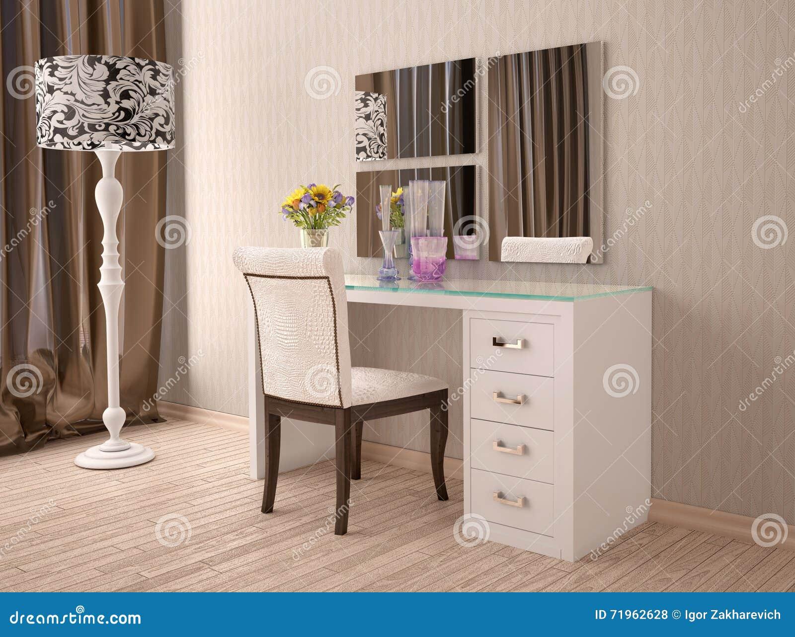 Mueble tocador moderno dise os arquitect nicos - Tocadores con espejo ...