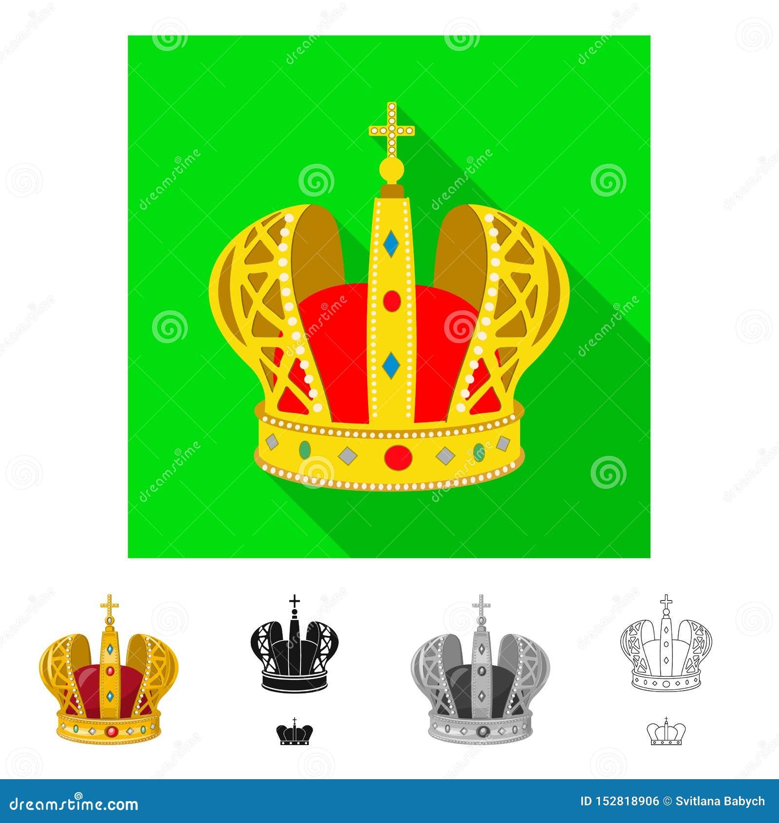 Ejemplo del vector de la muestra medieval y de la nobleza Colecci?n de ejemplo com?n medieval y de la monarqu?a del vector