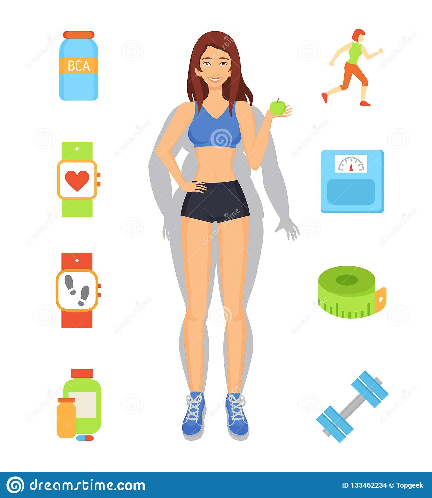 perdida de peso y deporte