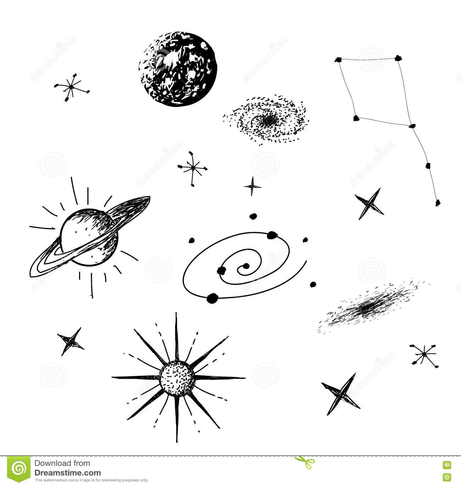 Ejemplo del vector del universo