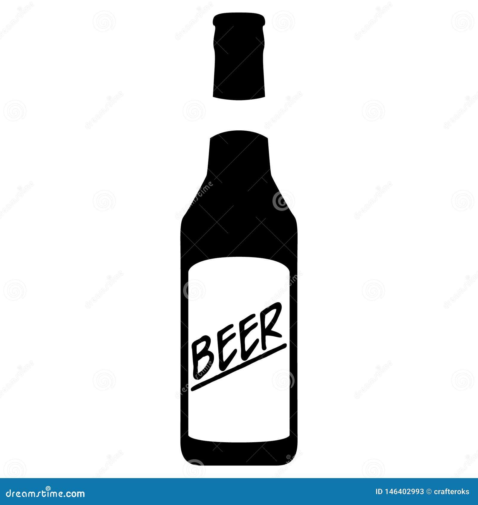 Ejemplo del vector EPS de la cerveza por los crafteroks