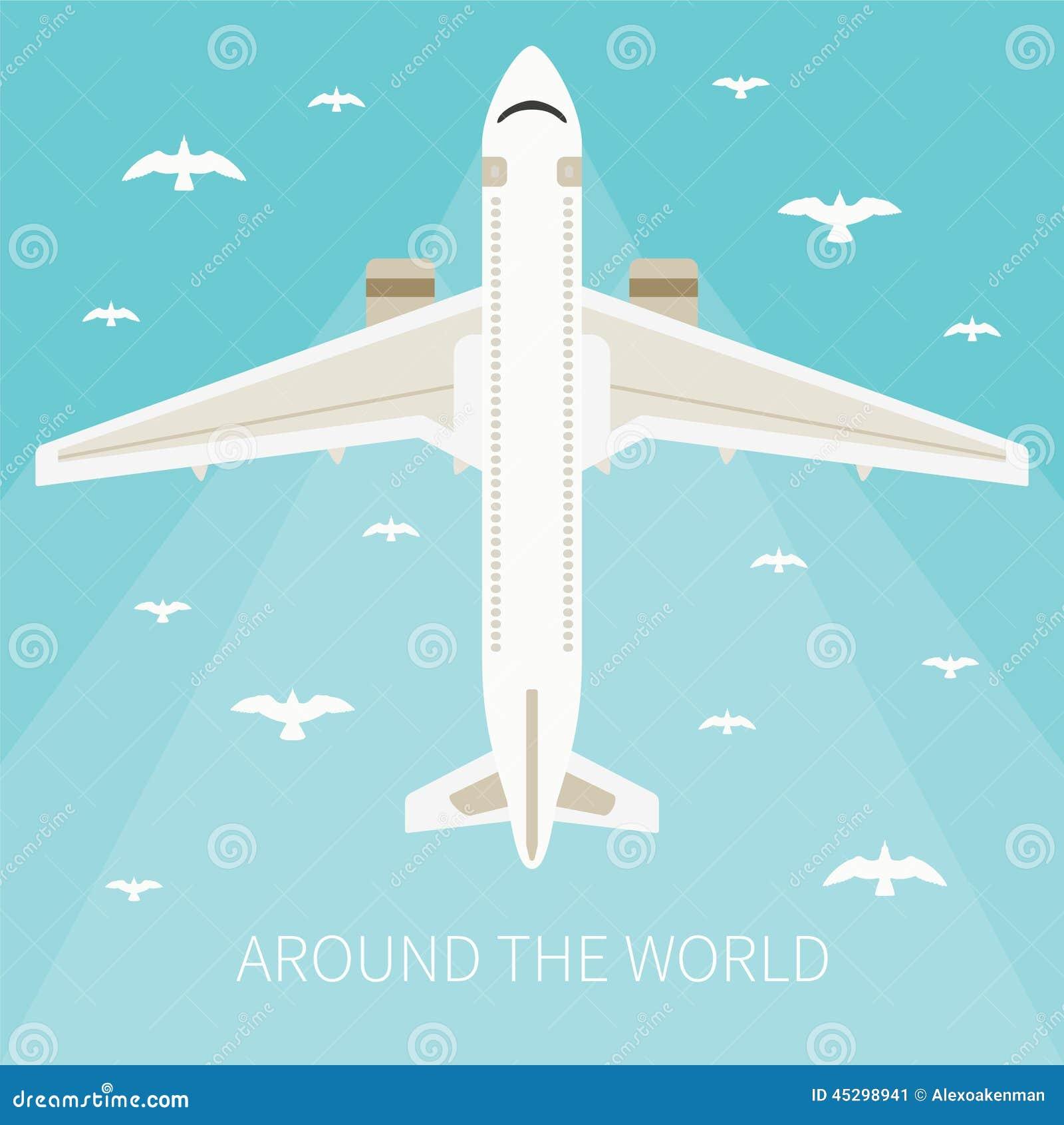 Ejemplo del vector para la industria de turismo
