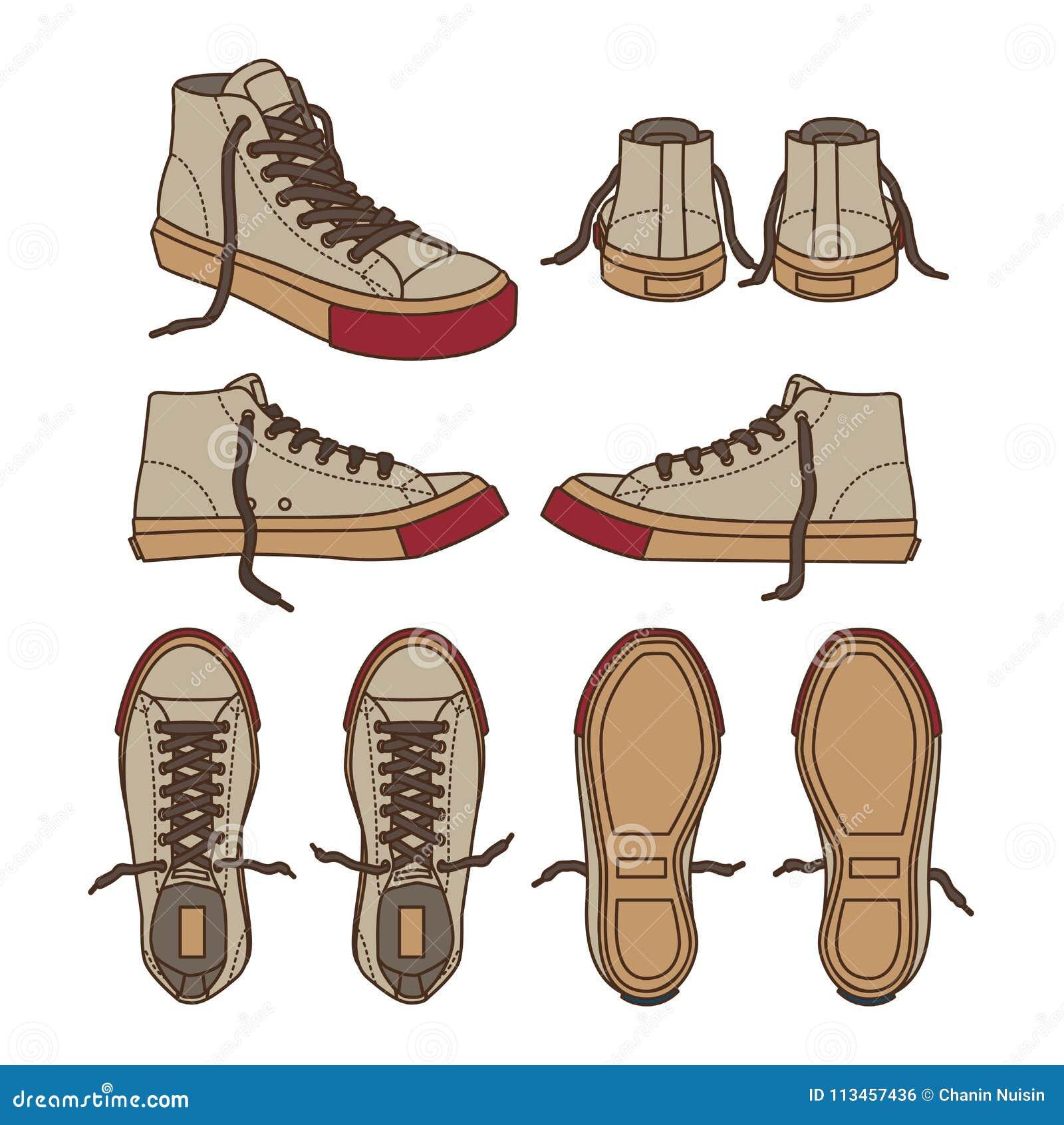 Pie Entrenamiento Desgaste Zapato Ejemplo Del 2WYE9IDH