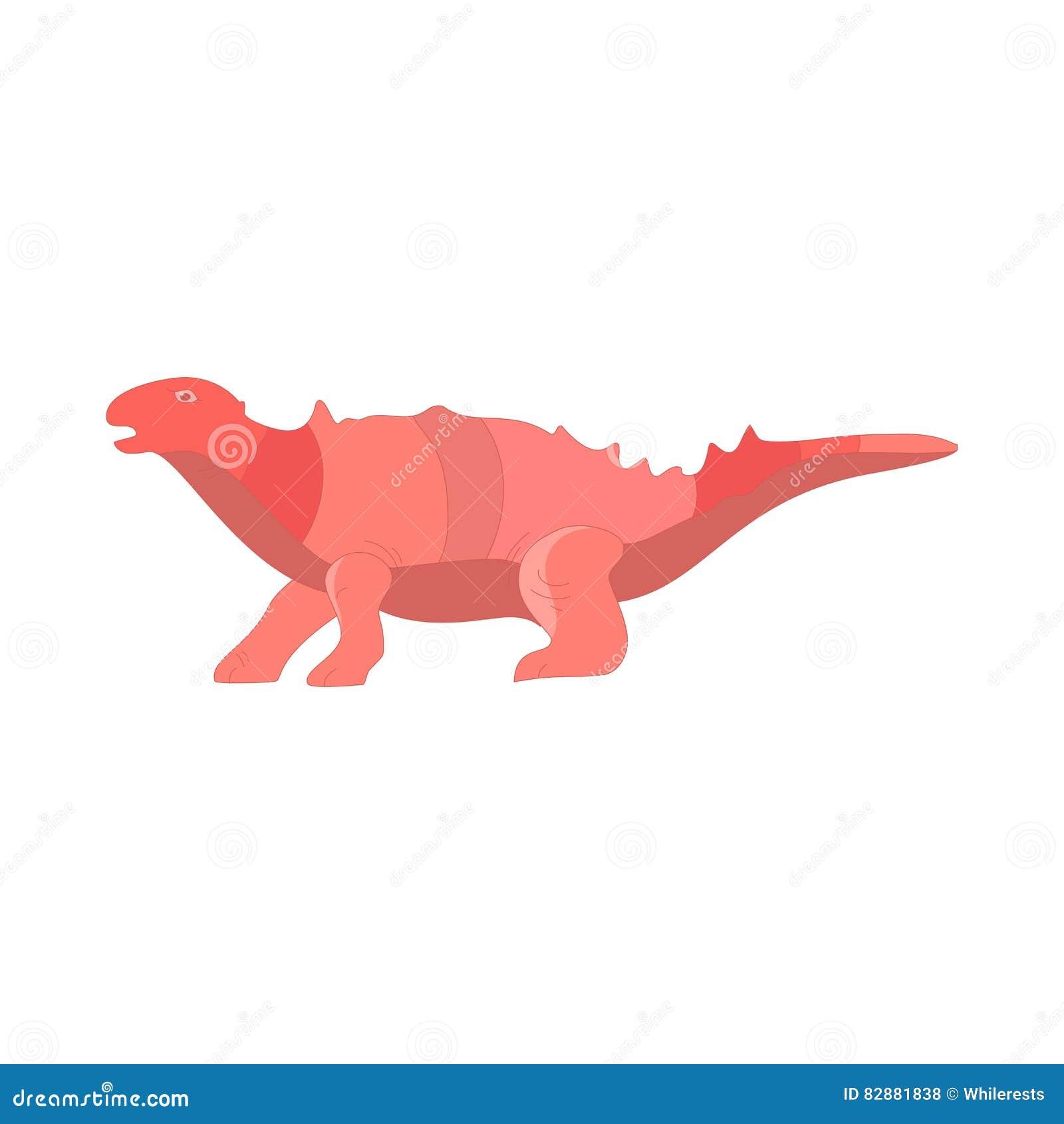 Ejemplo determinado del vector de la colección de la historieta del dinosaurio Animal del monstruo lindo de los dinosaurios de la
