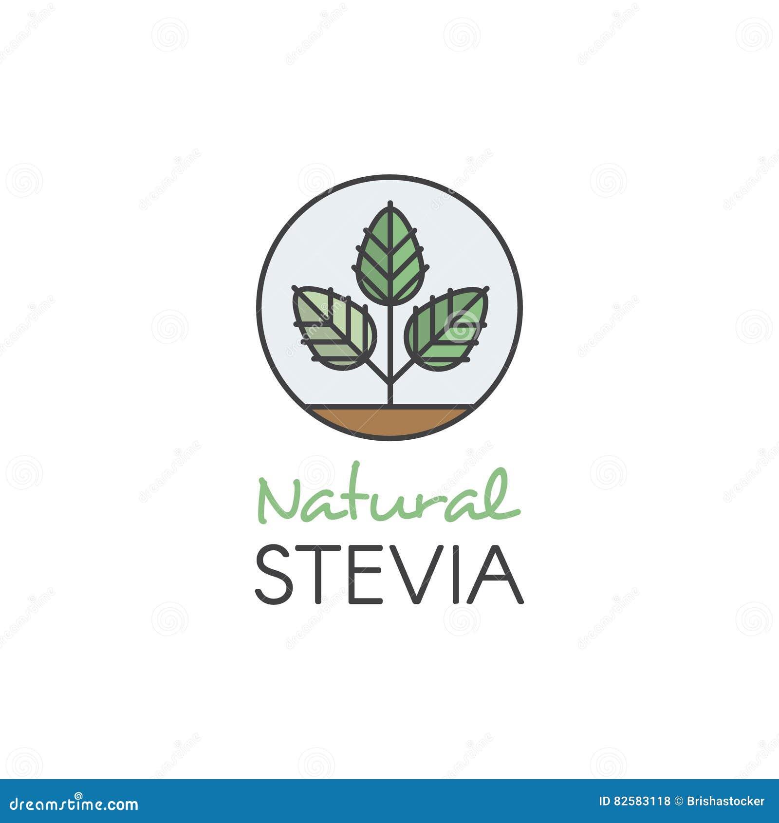 Ejemplo Logo Set Label Badge del estilo del icono y elemento del diseño para empaquetar con el icono de las Mano-letras, dulce na