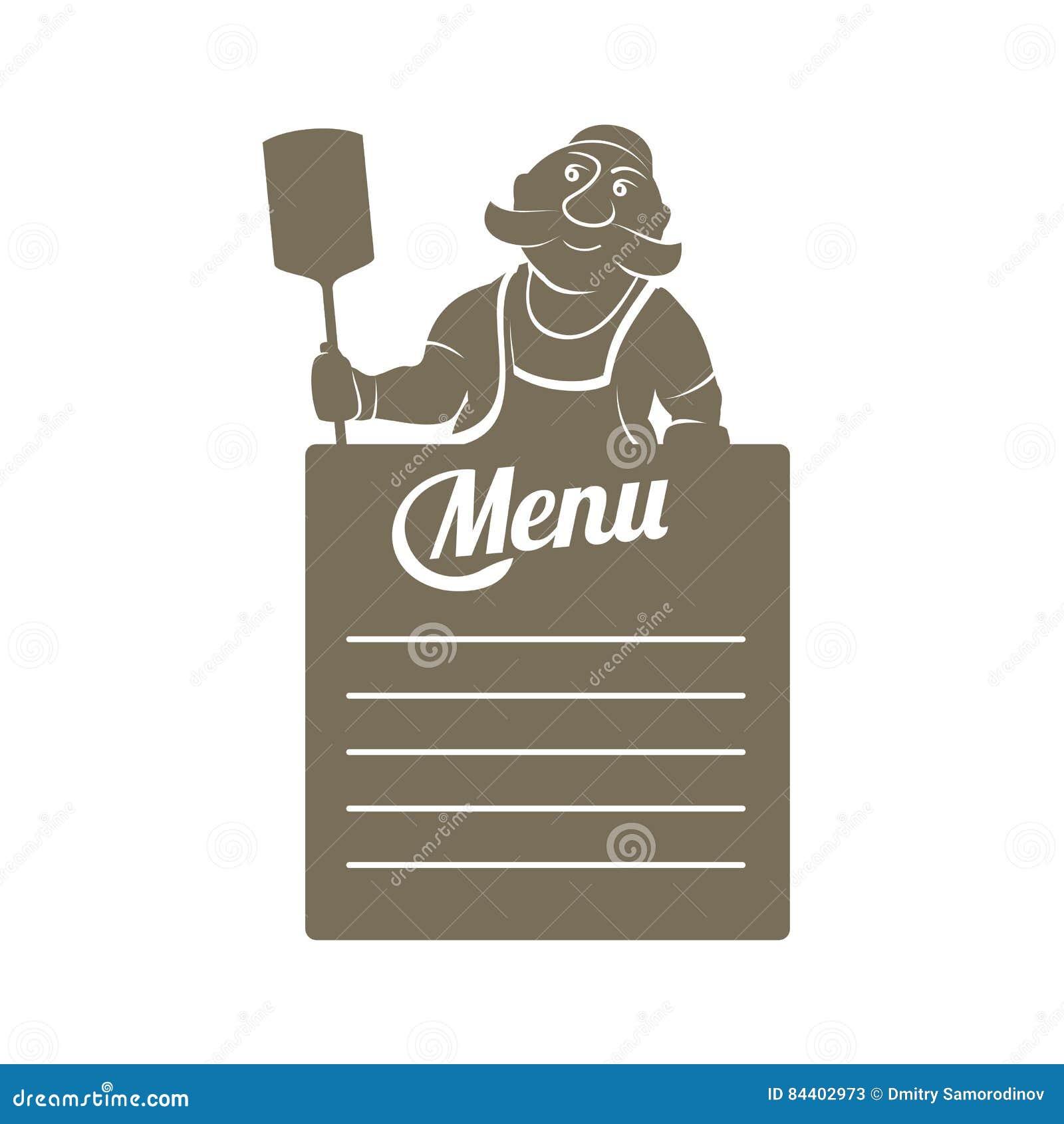 Ejemplo plano de la plantilla del menú